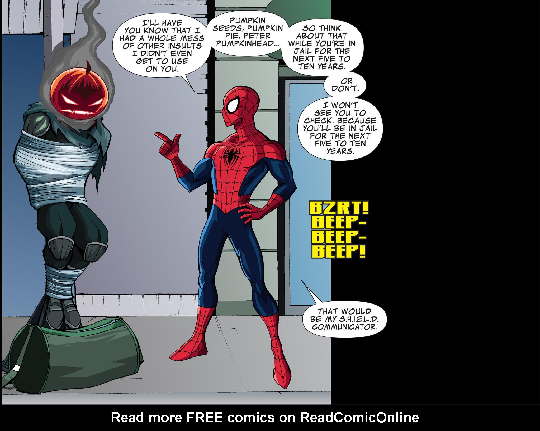 Read online Ultimate Spider-Man (Infinite Comics) (2015) comic -  Issue #1 - 17