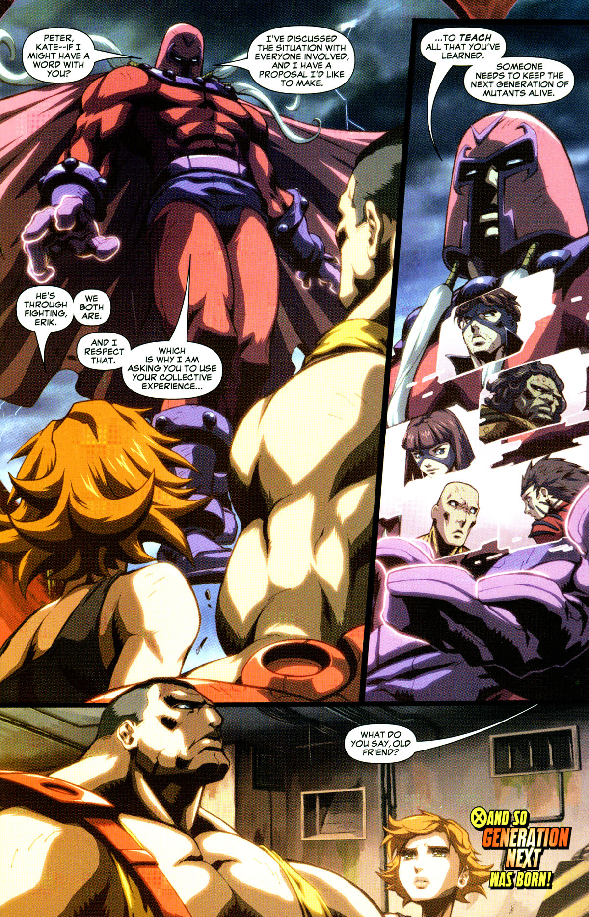Read online X-Men: Age of Apocalypse One-Shot comic -  Issue # Full - 9