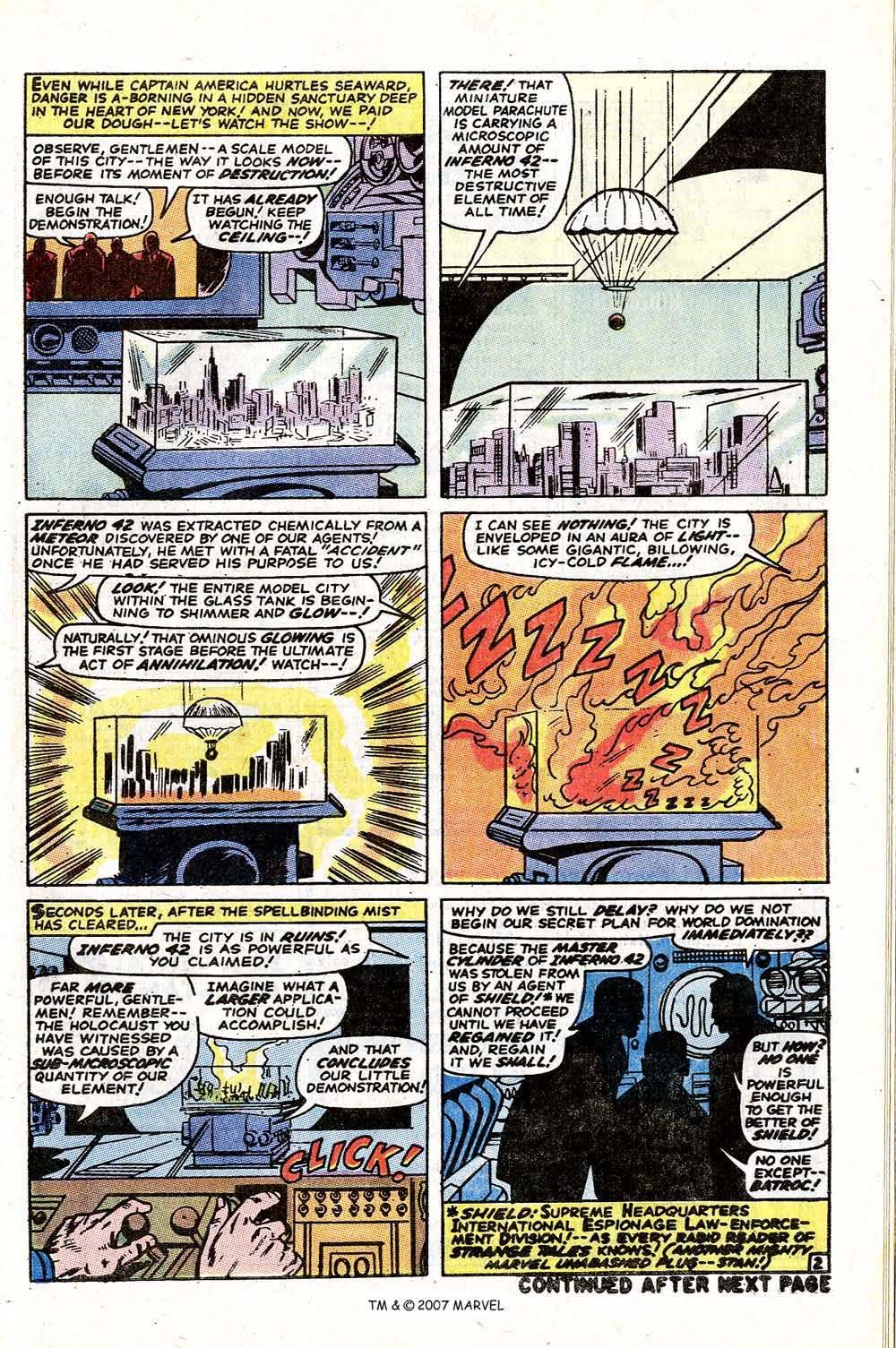Read online Captain America (1968) comic -  Issue # _Annual 1 - 55