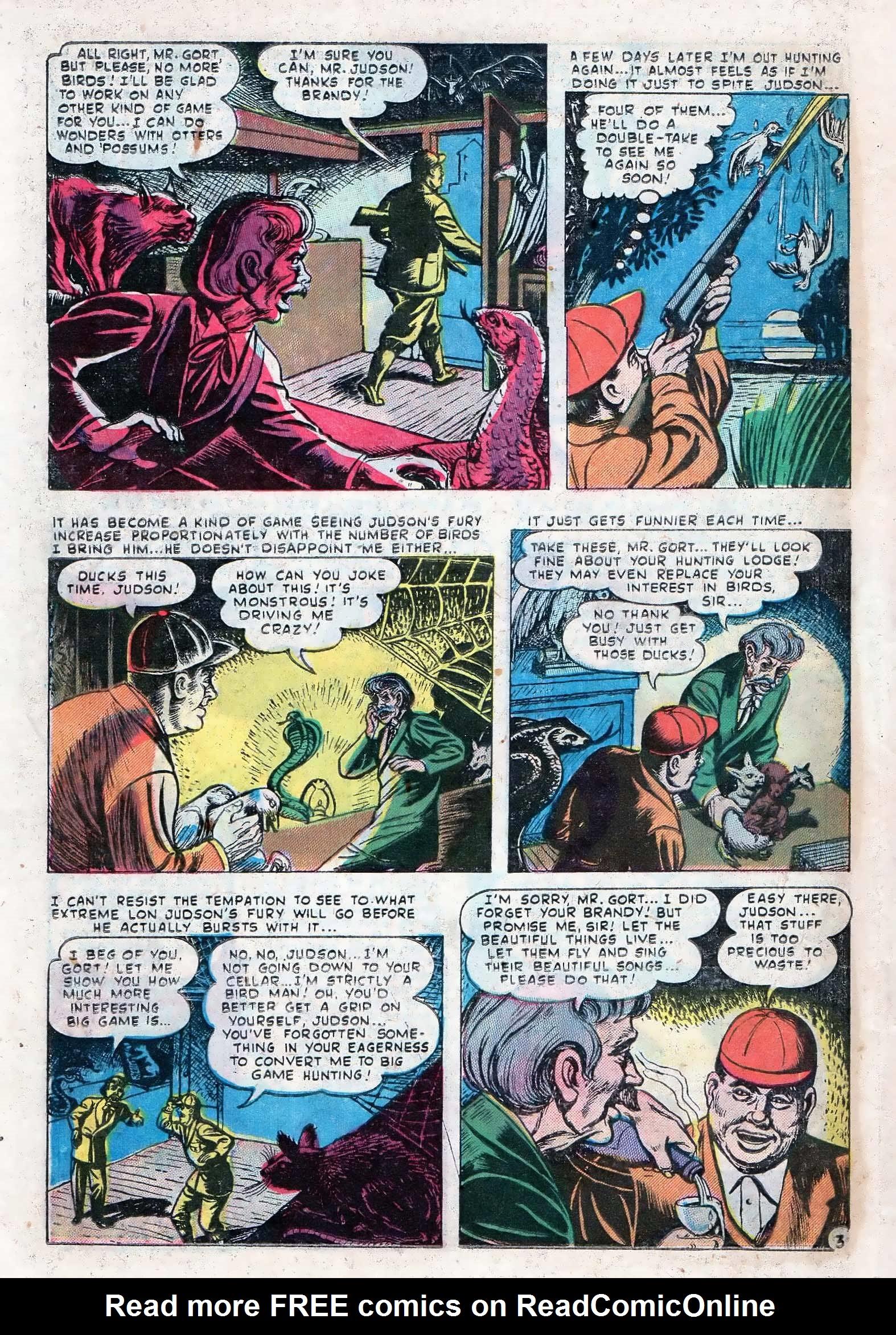 Read online Adventures into Weird Worlds comic -  Issue #10 - 23