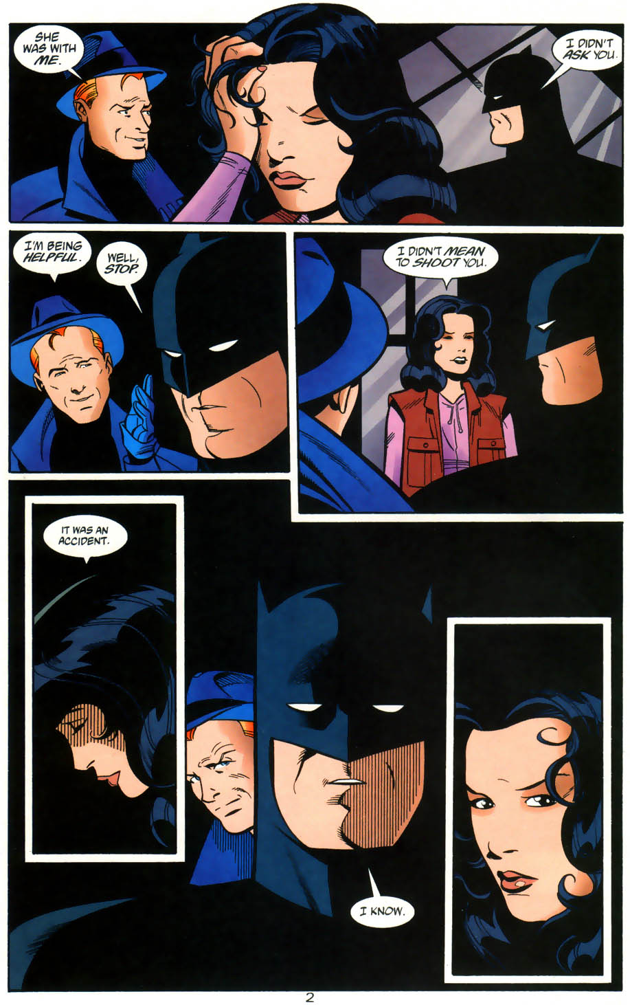 Read online Batman/Huntress: Cry for Blood comic -  Issue #5 - 3