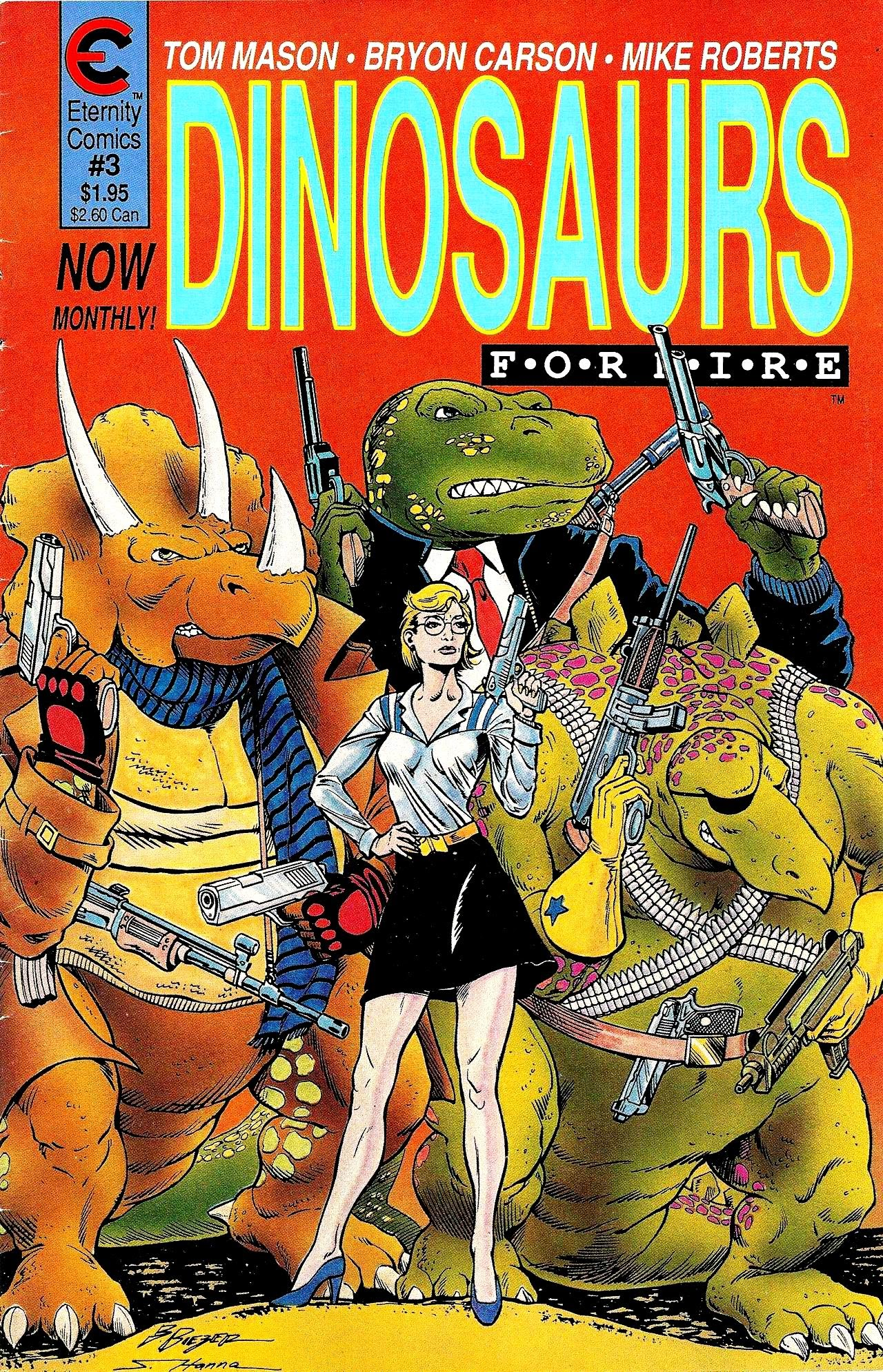 Dinosaurs For Hire (1988) issue 3 - Page 1