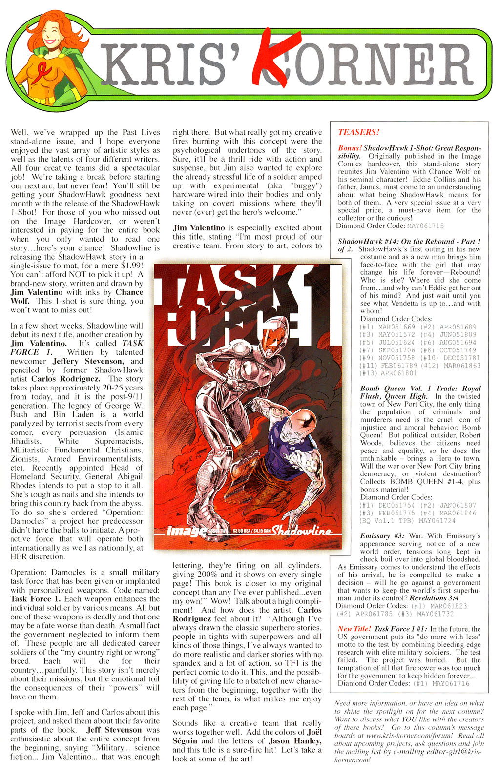 Read online ShadowHawk (2005) comic -  Issue #13 - 30