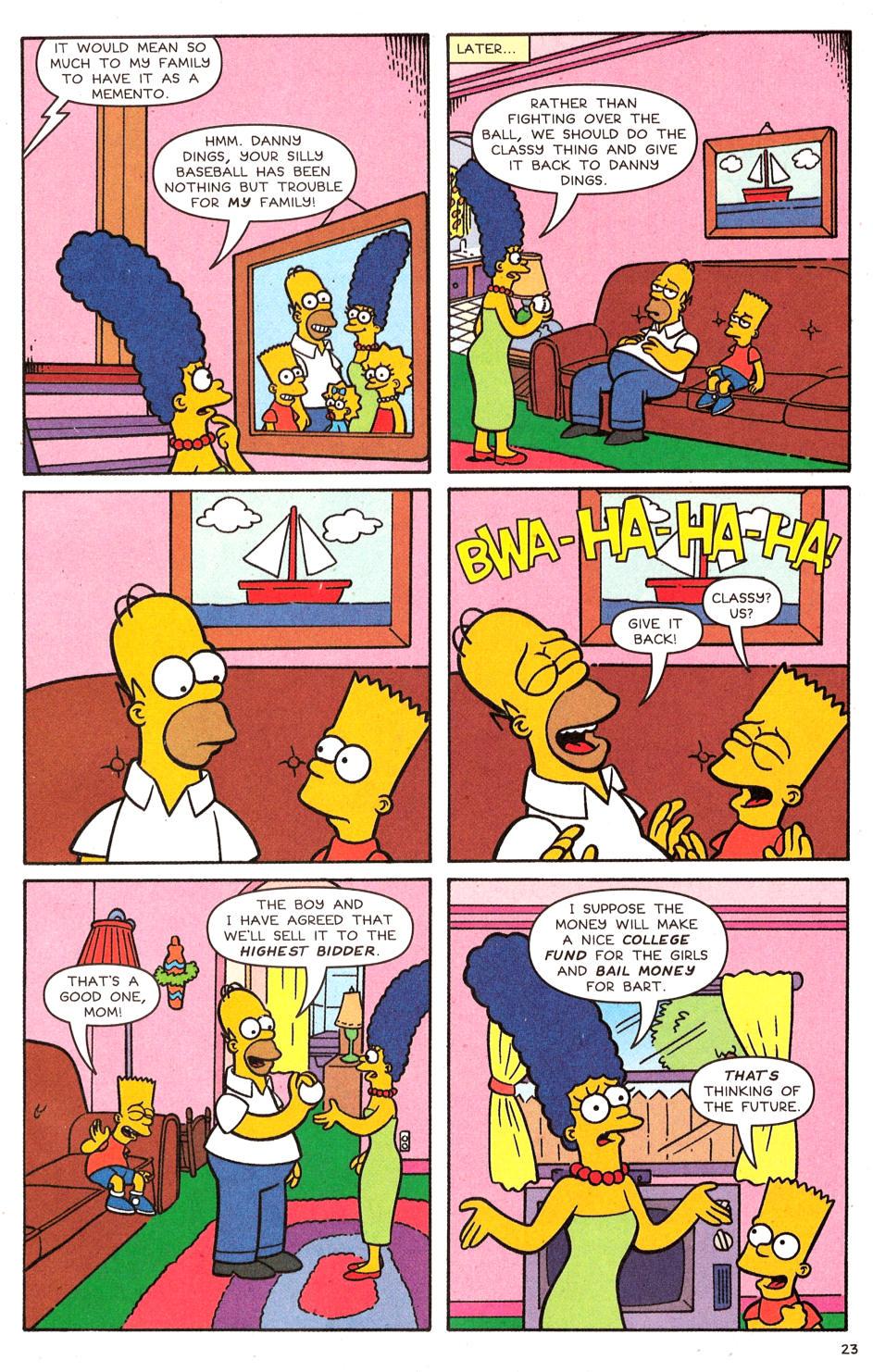 Read online Simpsons Comics comic -  Issue #120 - 19