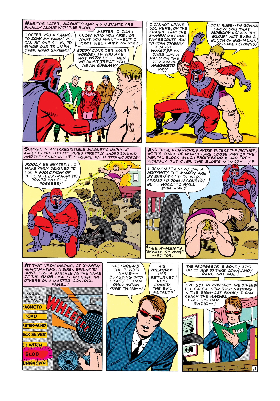 Uncanny X-Men (1963) 7 Page 11