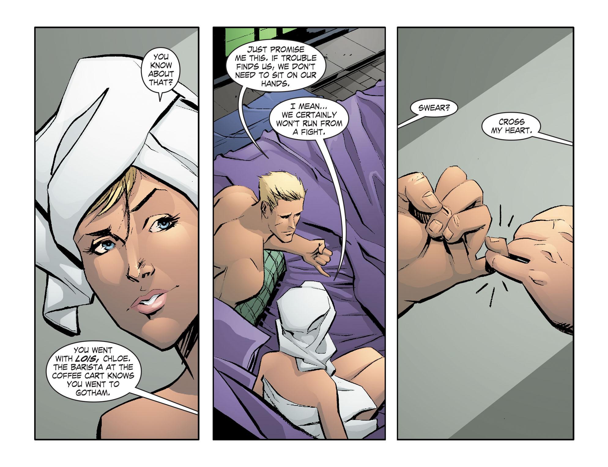 Read online Smallville: Lantern [I] comic -  Issue #1 - 14