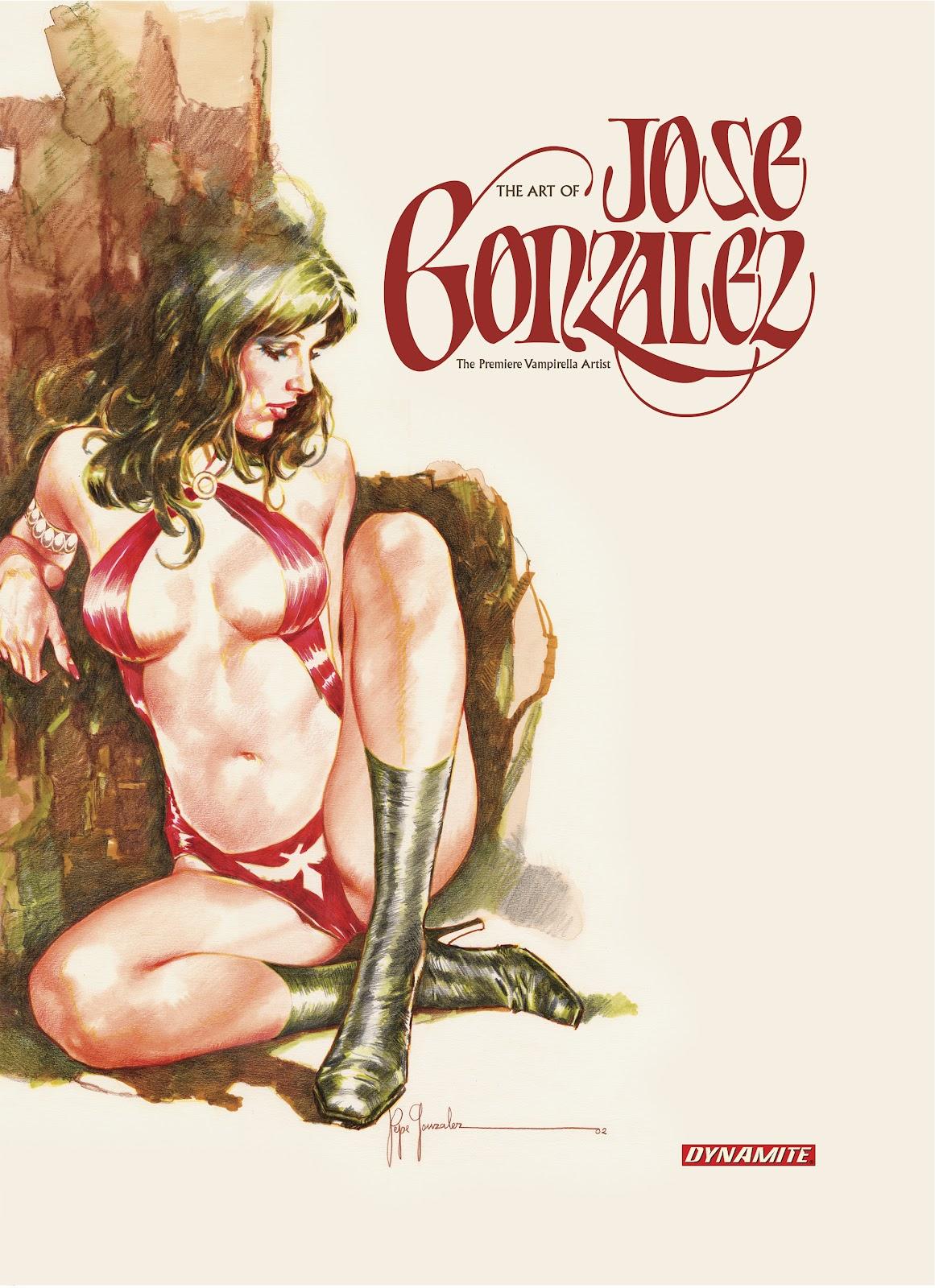 Read online The Art of Jose Gonzalez comic -  Issue # TPB (Part 1) - 1