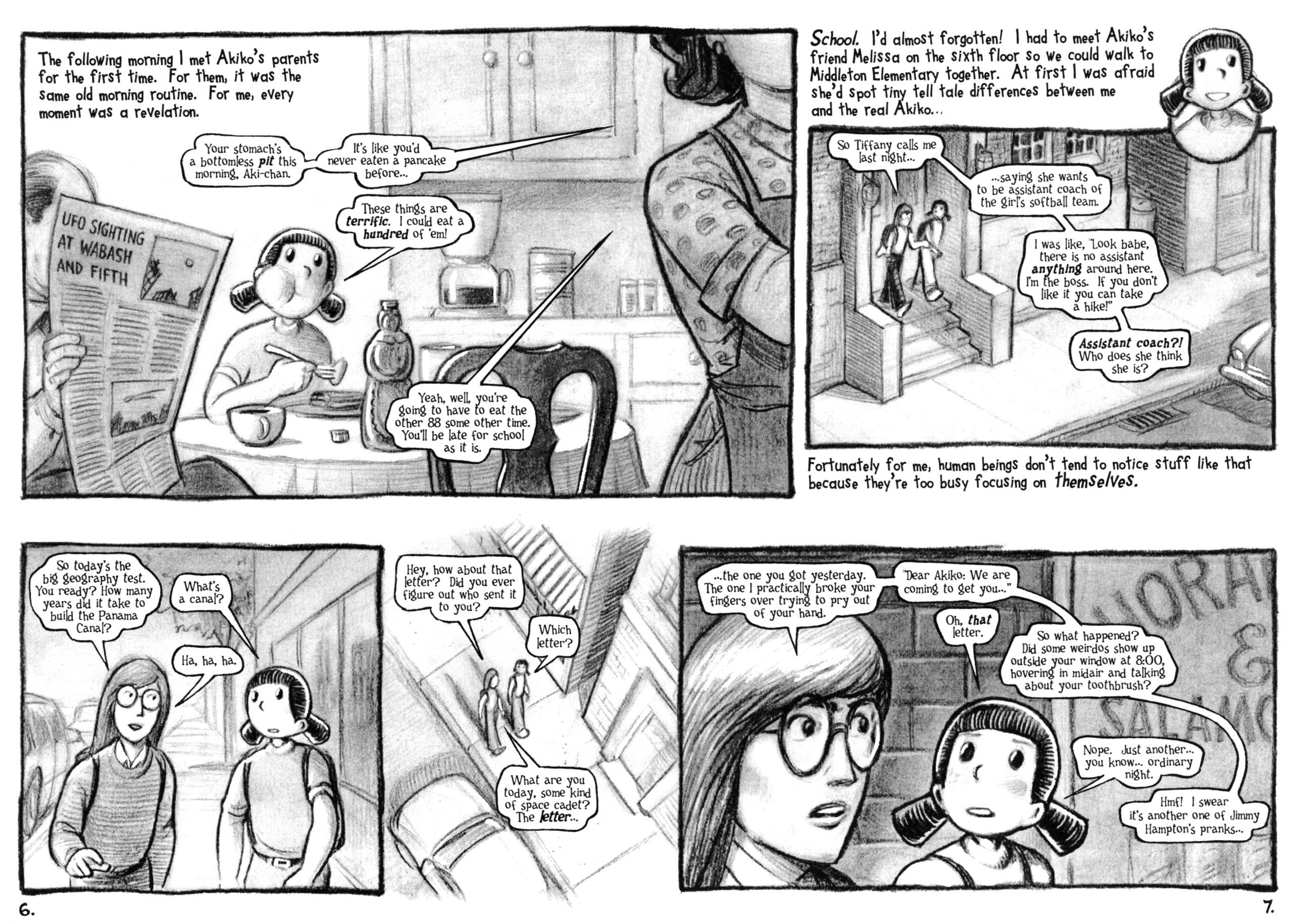 Read online Akiko comic -  Issue #48 - 6