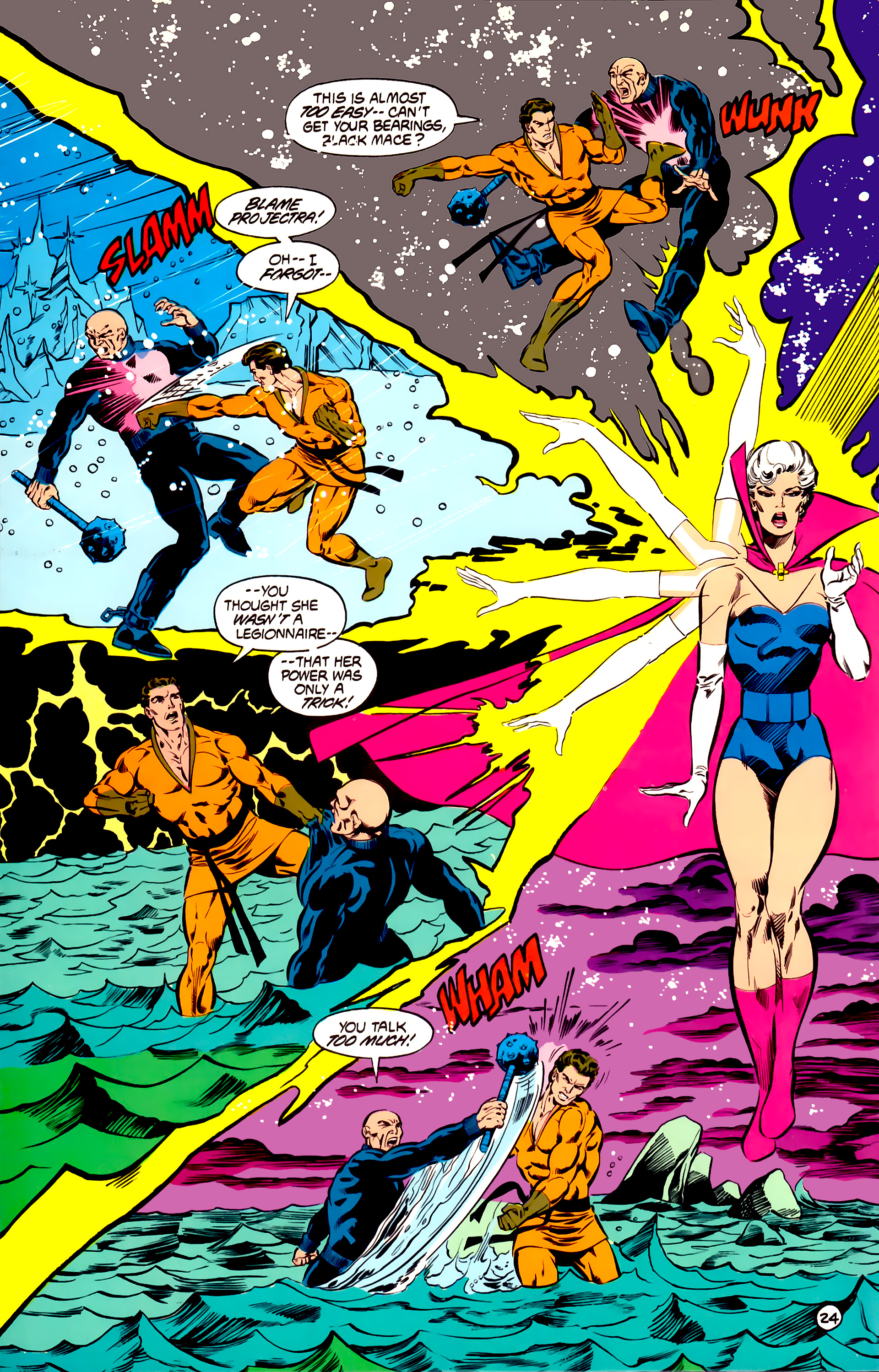 Legion of Super-Heroes (1984) 31 Page 24