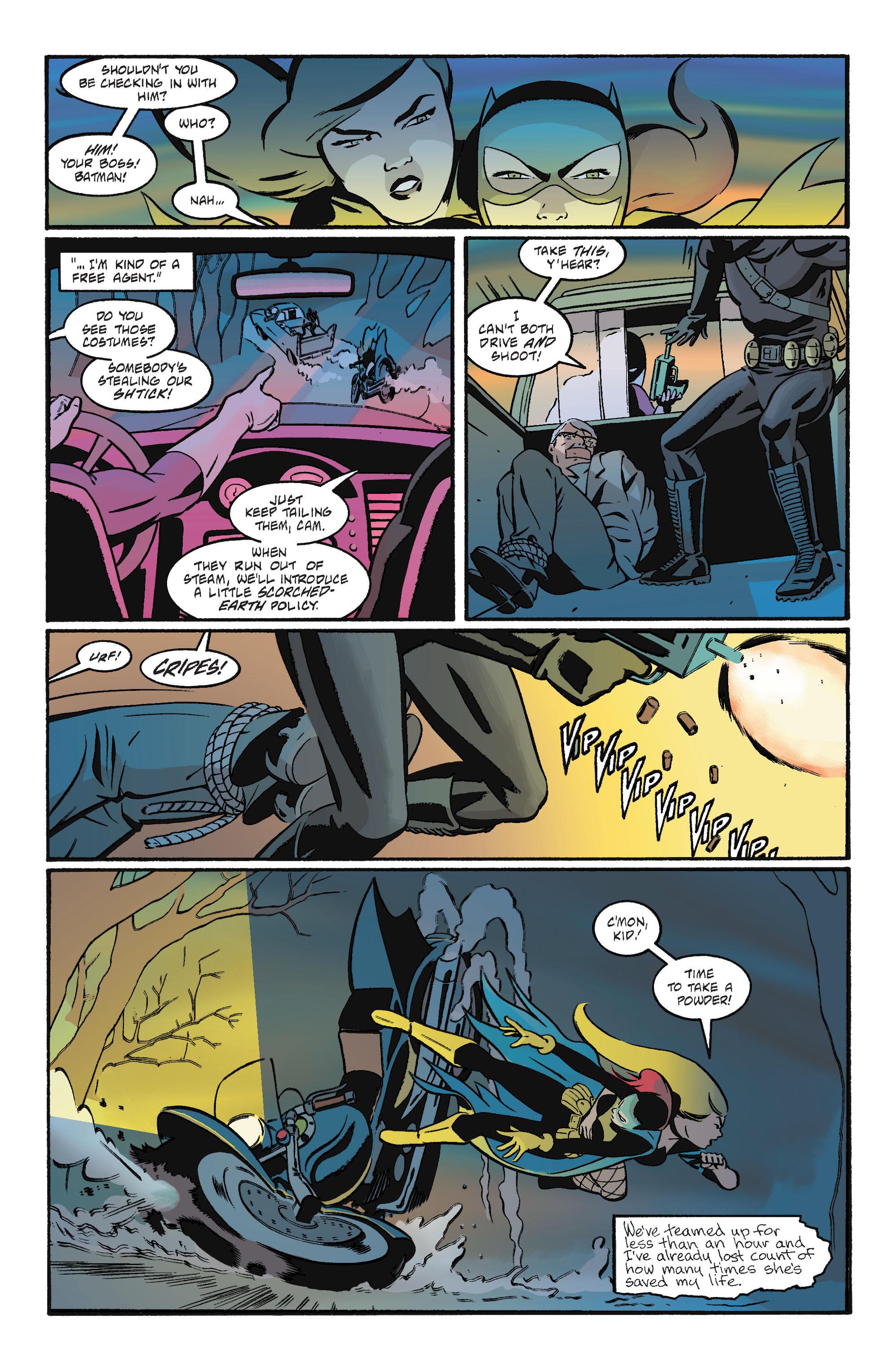 Read online Batgirl/Robin: Year One comic -  Issue # TPB 2 - 128