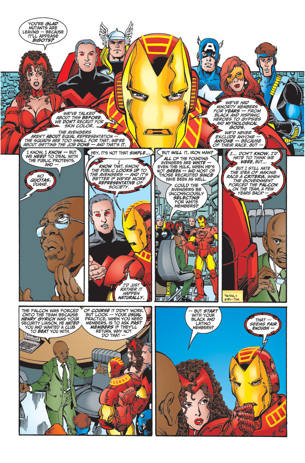 Read online Avengers (1998) comic -  Issue #27 - 6