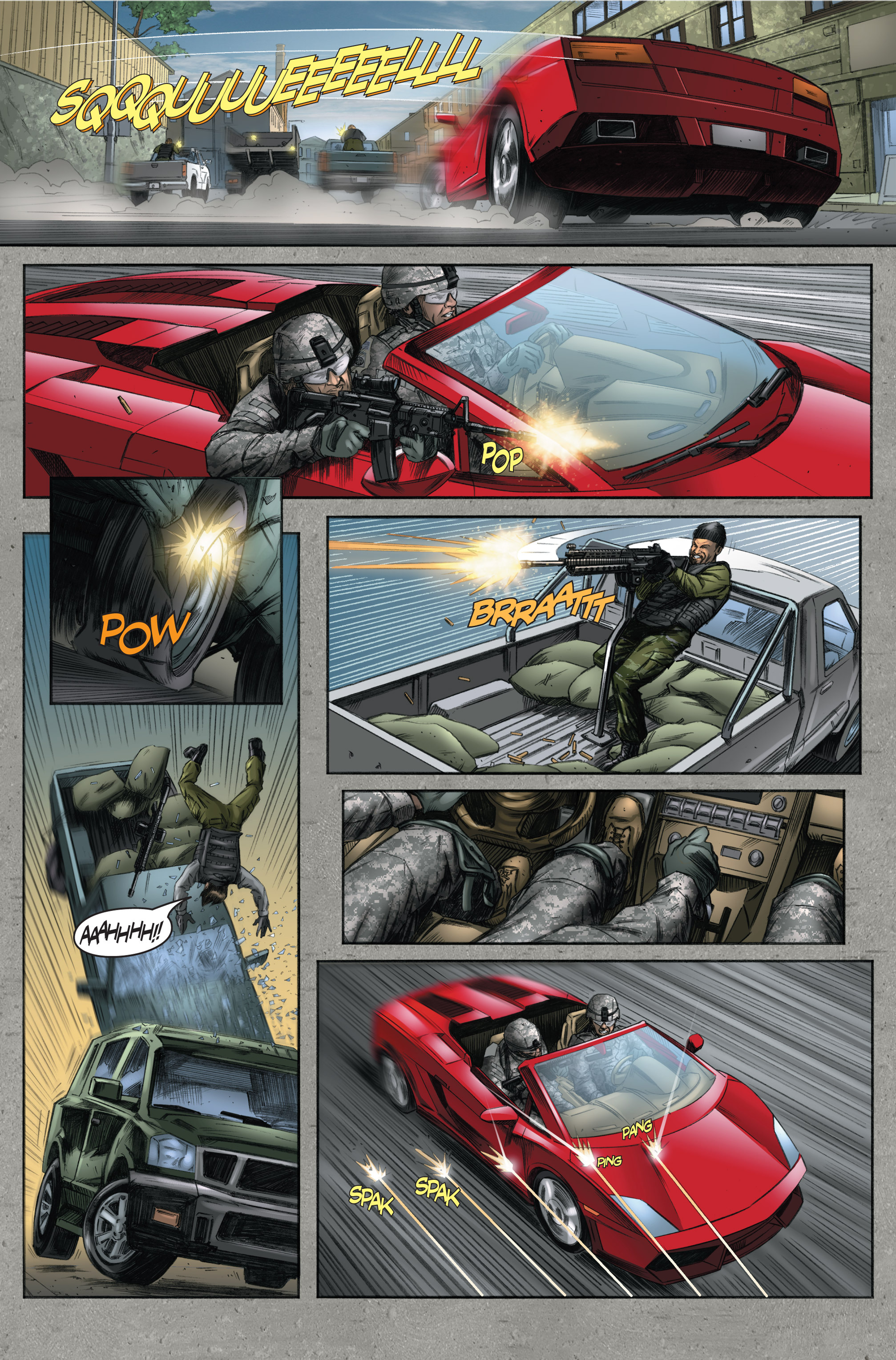 Read online America's Army comic -  Issue #6 - 34