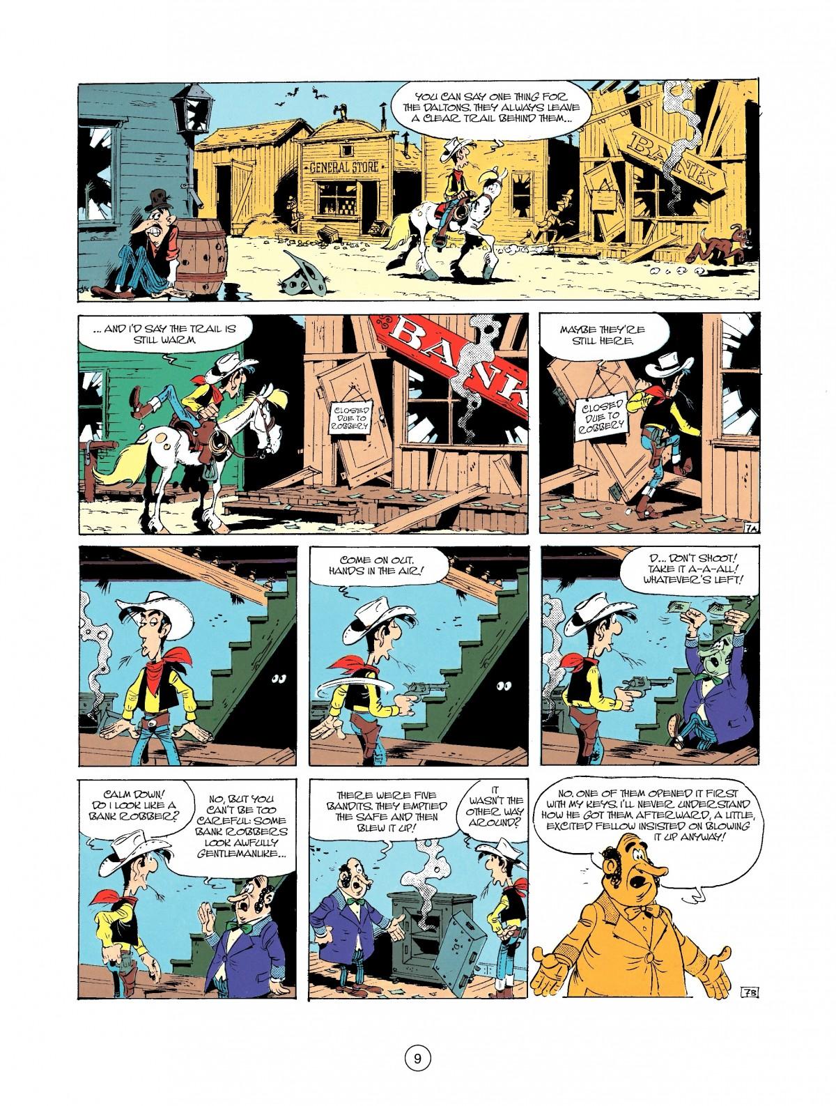 Read online A Lucky Luke Adventure comic -  Issue #37 - 9