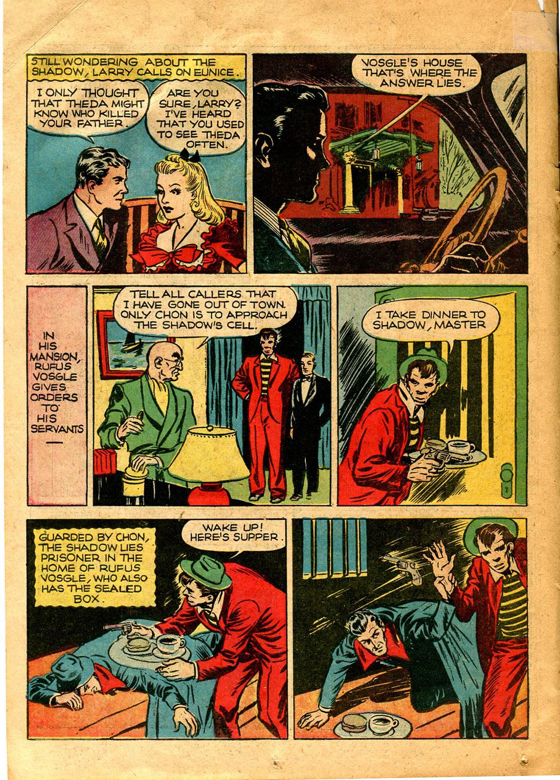 Read online Shadow Comics comic -  Issue #9 - 26