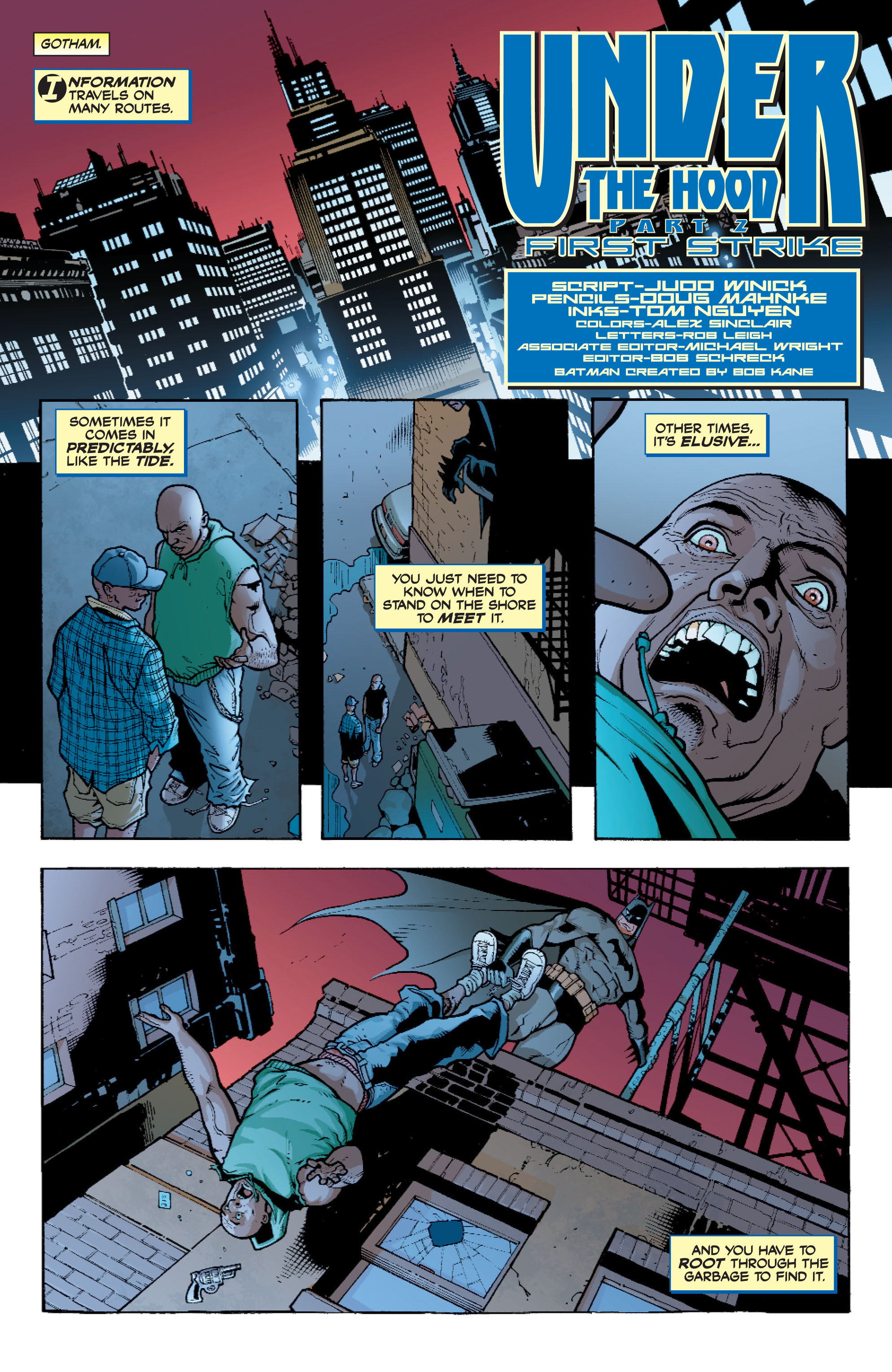 Read online Batman: Under The Red Hood comic -  Issue # Full - 32
