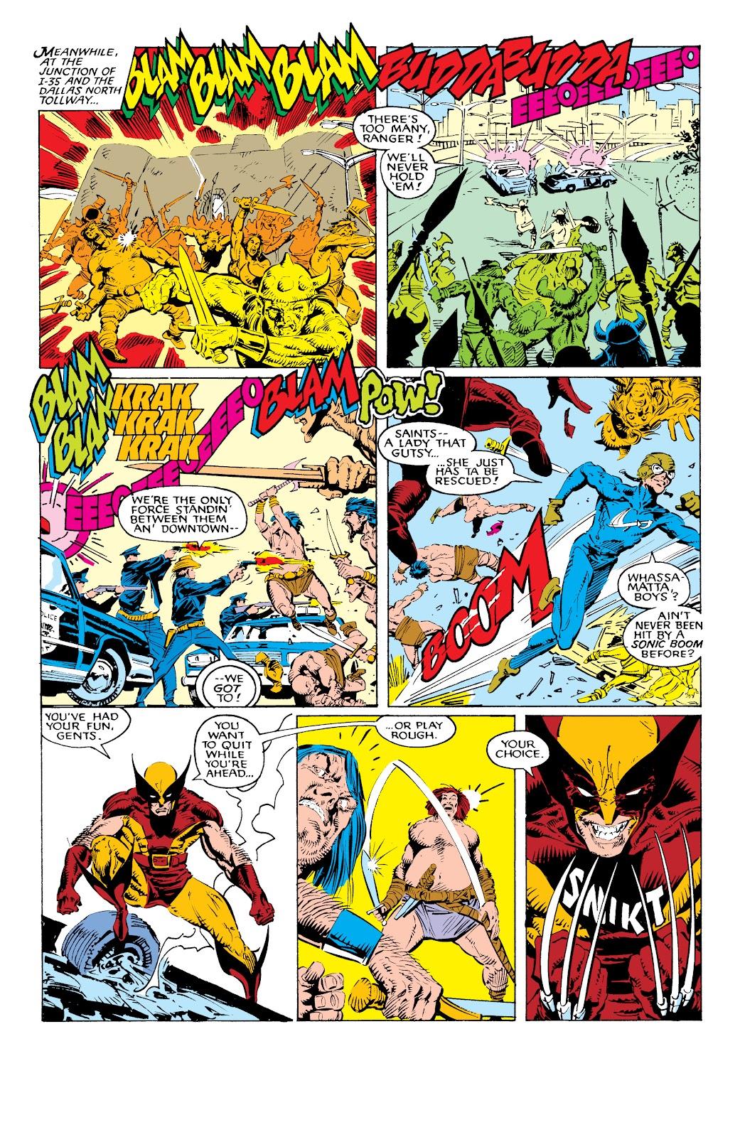 Read online X-Men Milestones: Fall of the Mutants comic -  Issue # TPB (Part 1) - 42