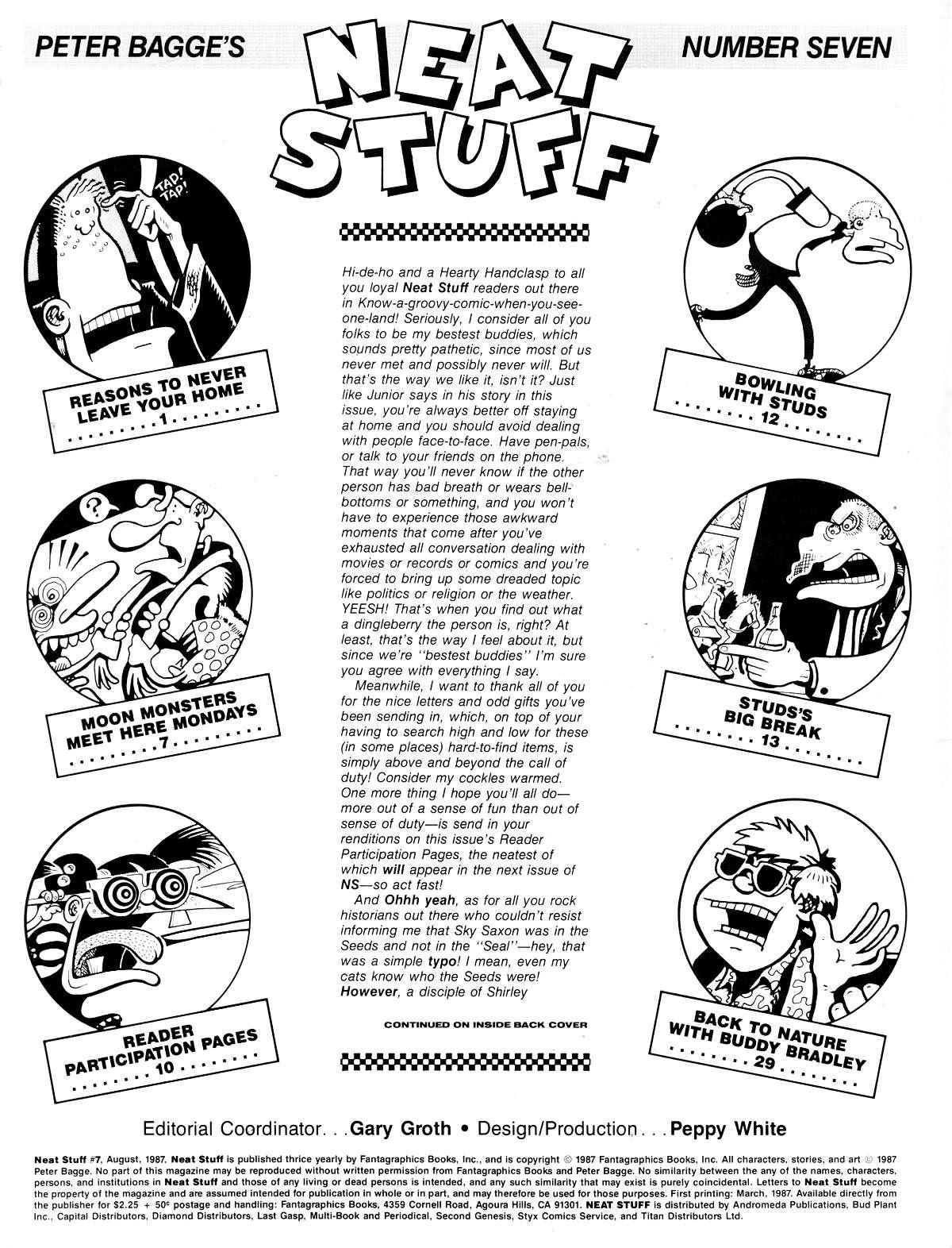Read online Neat Stuff comic -  Issue #7 - 2