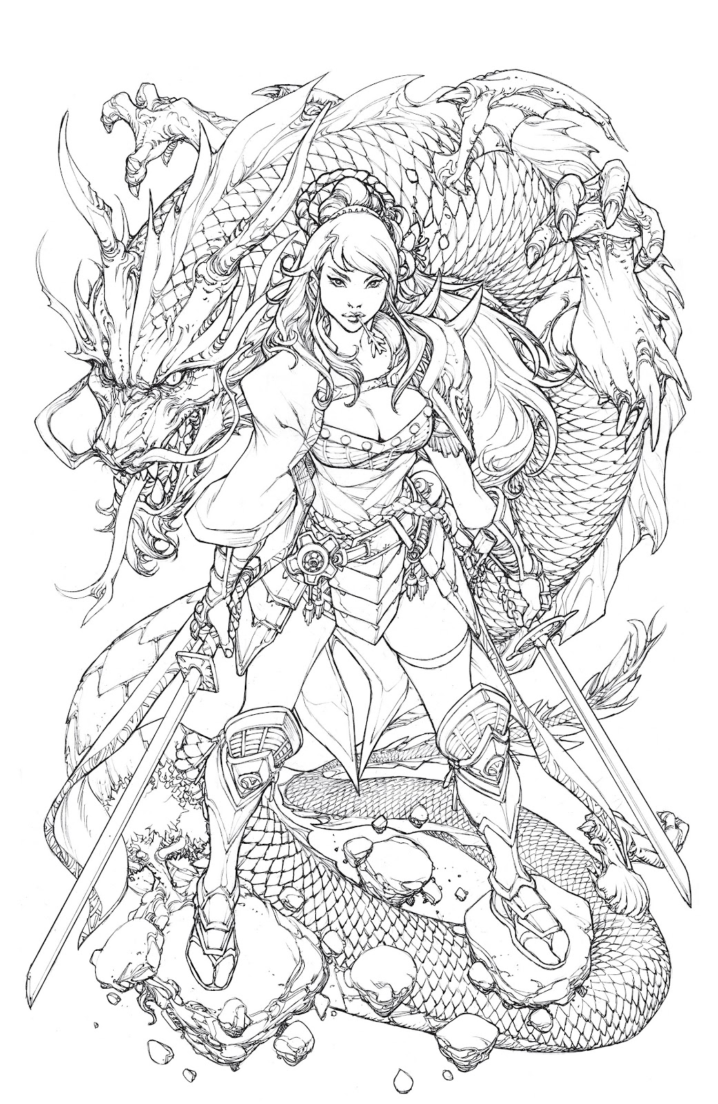 Read online Oniba: Swords of the Demon comic -  Issue # Full - 22