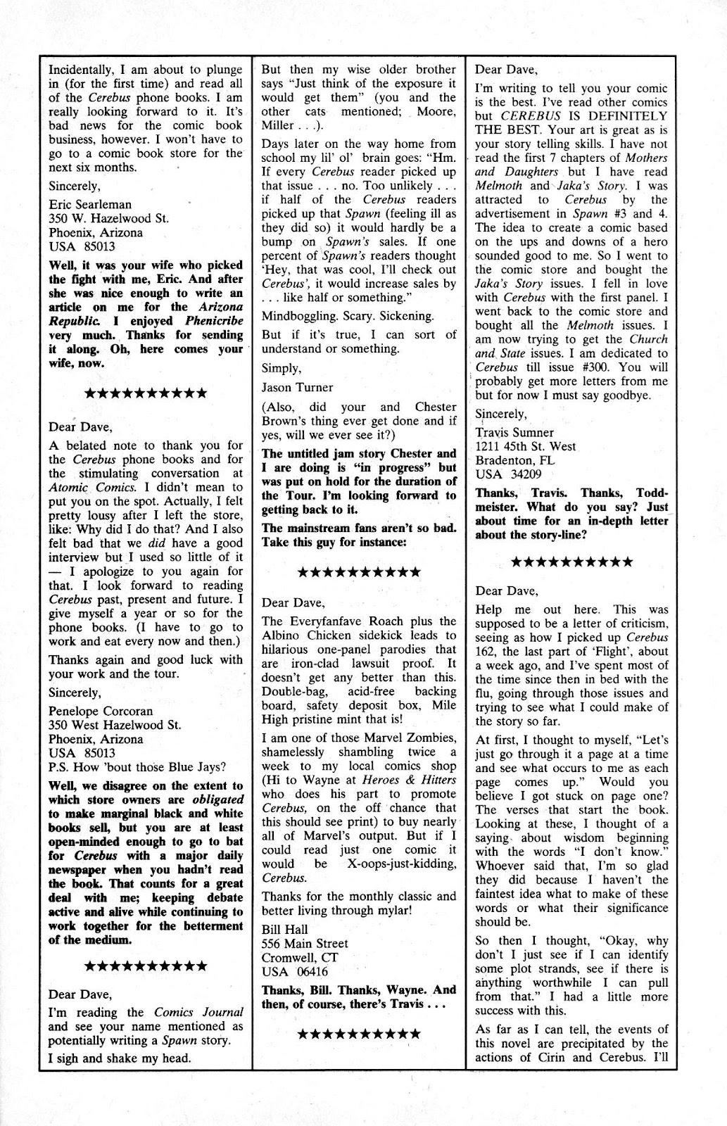 Cerebus Issue #165 #164 - English 23