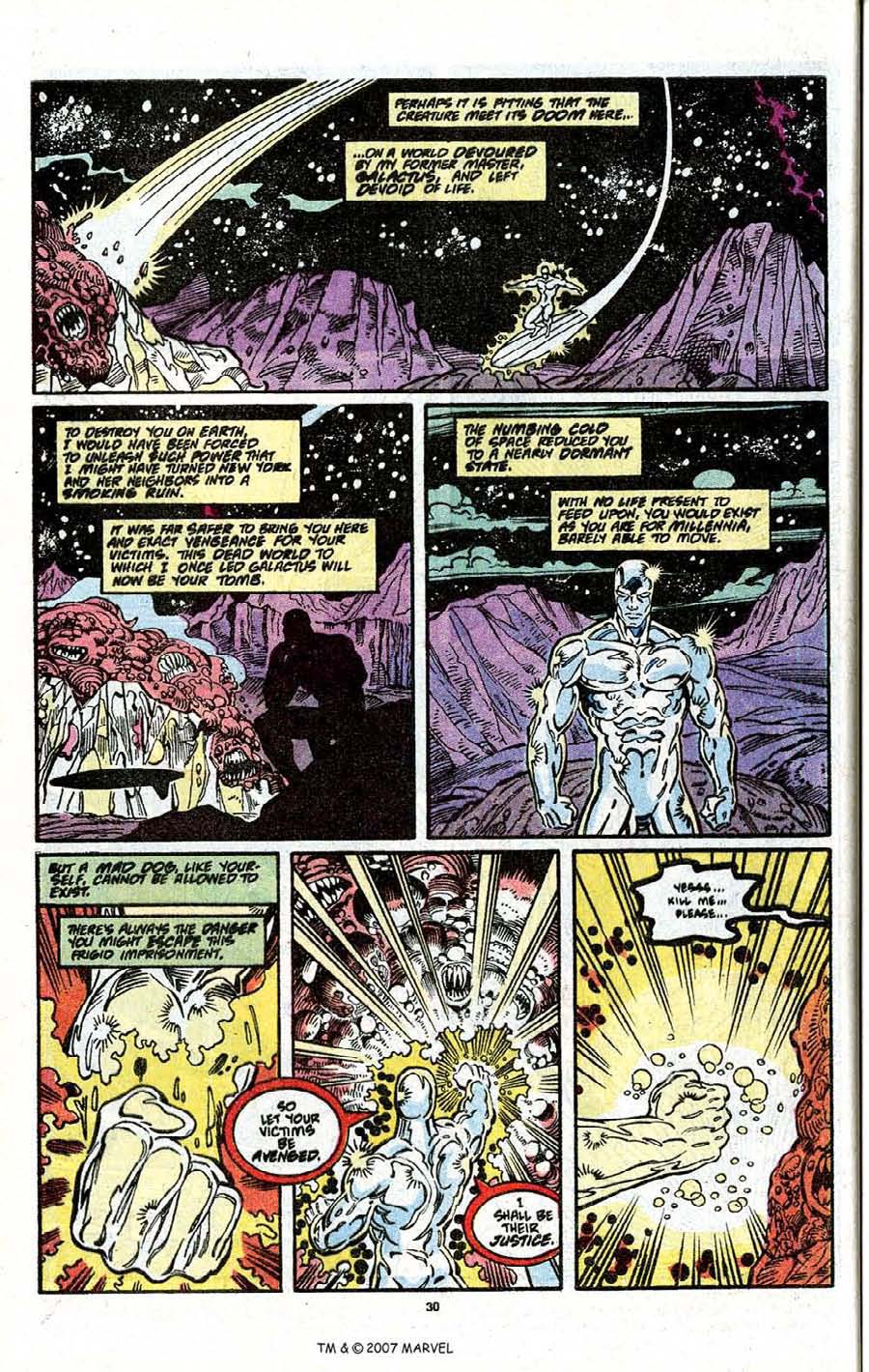 Read online Silver Surfer (1987) comic -  Issue # _Annual 3 - 32