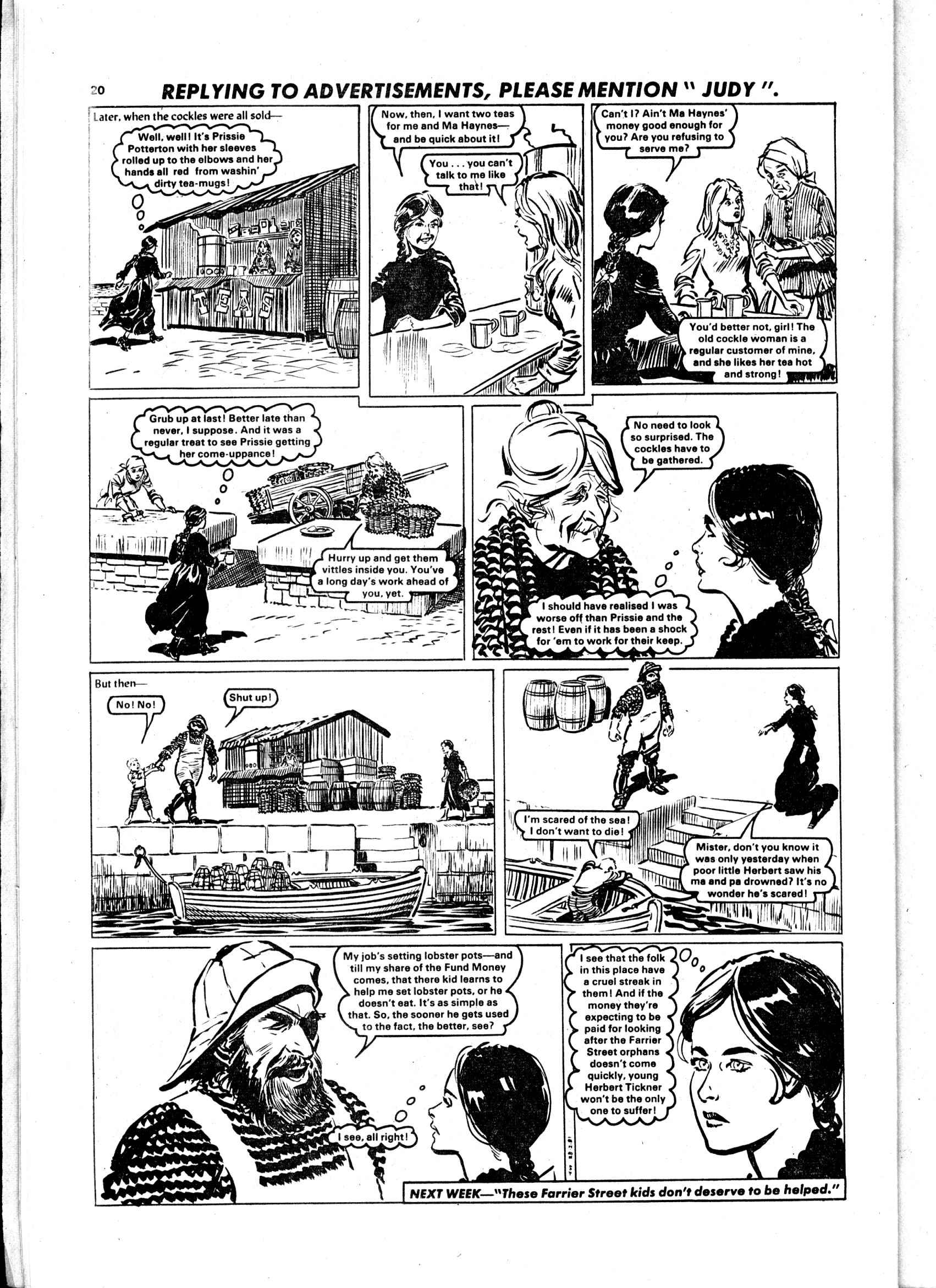 Read online Judy comic -  Issue #1103 - 20