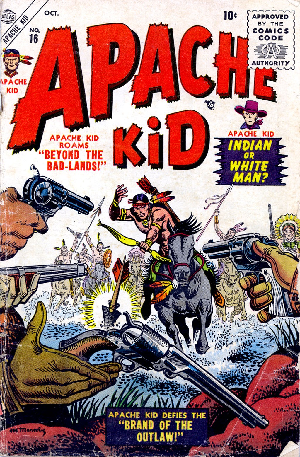 Apache Kid issue 16 - Page 1