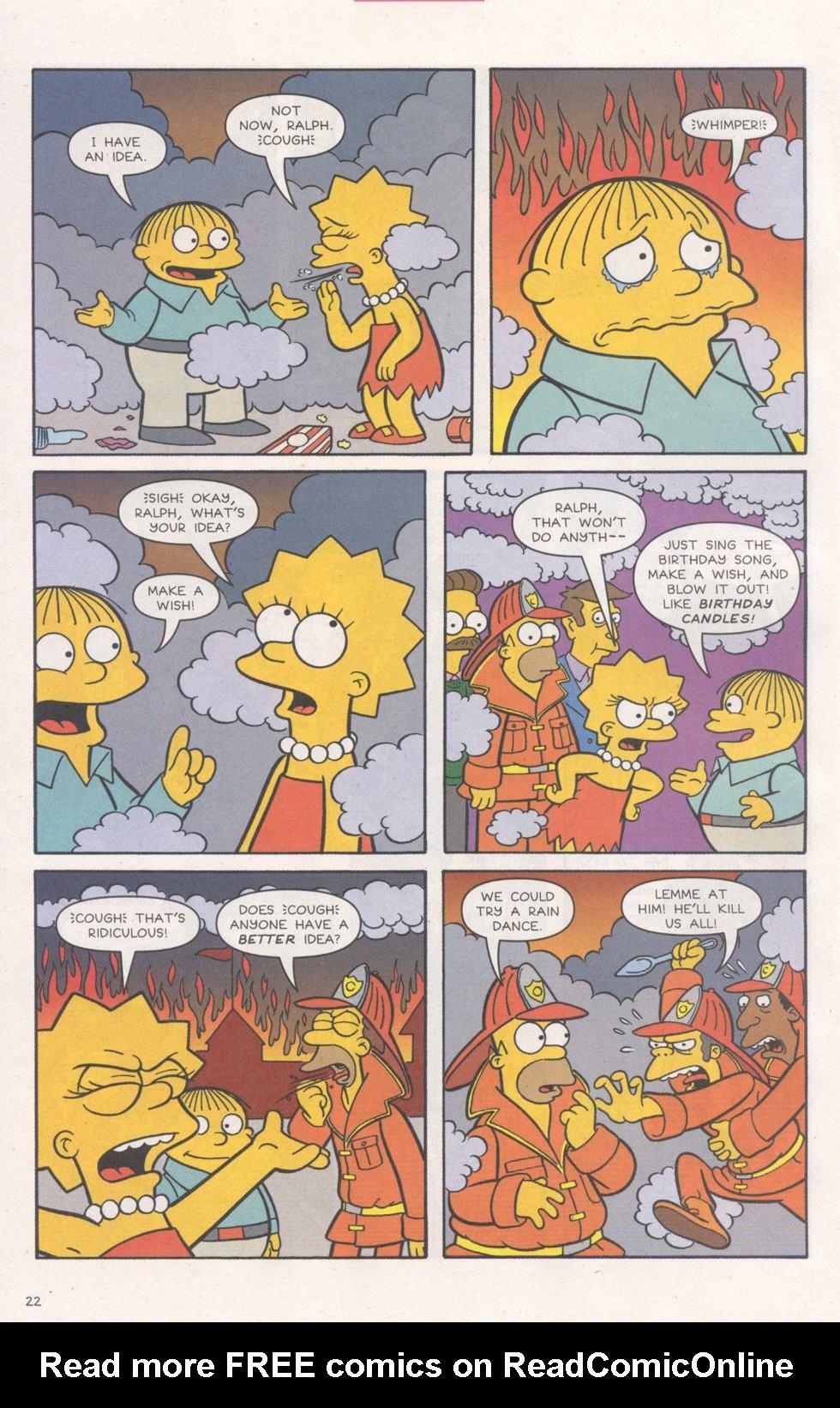 Read online Simpsons Comics comic -  Issue #93 - 23