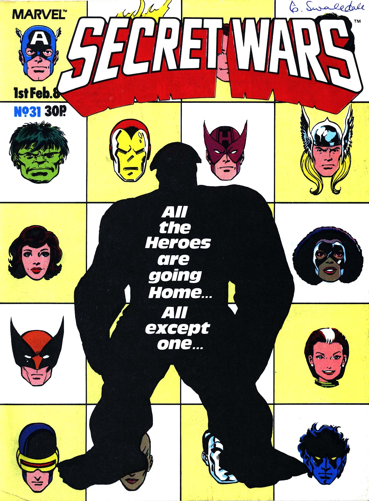 Secret Wars (1985) issue 31 - Page 1