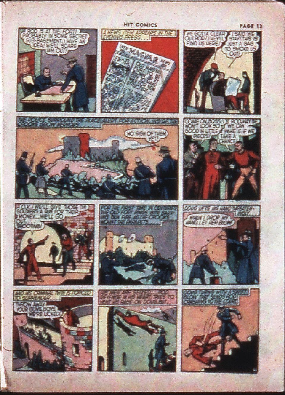 Read online Hit Comics comic -  Issue #4 - 15