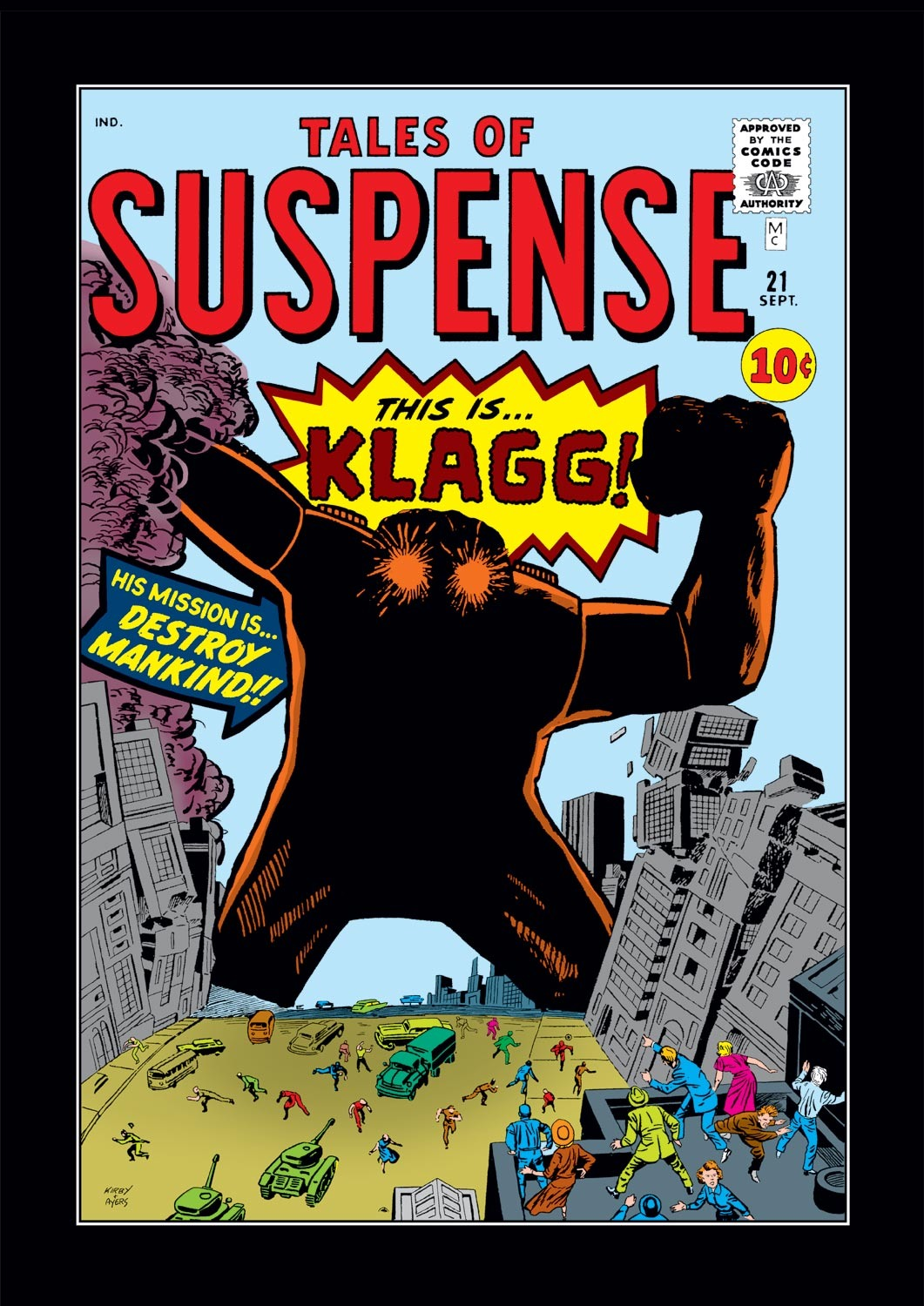 Tales of Suspense (1959) issue 21 - Page 1