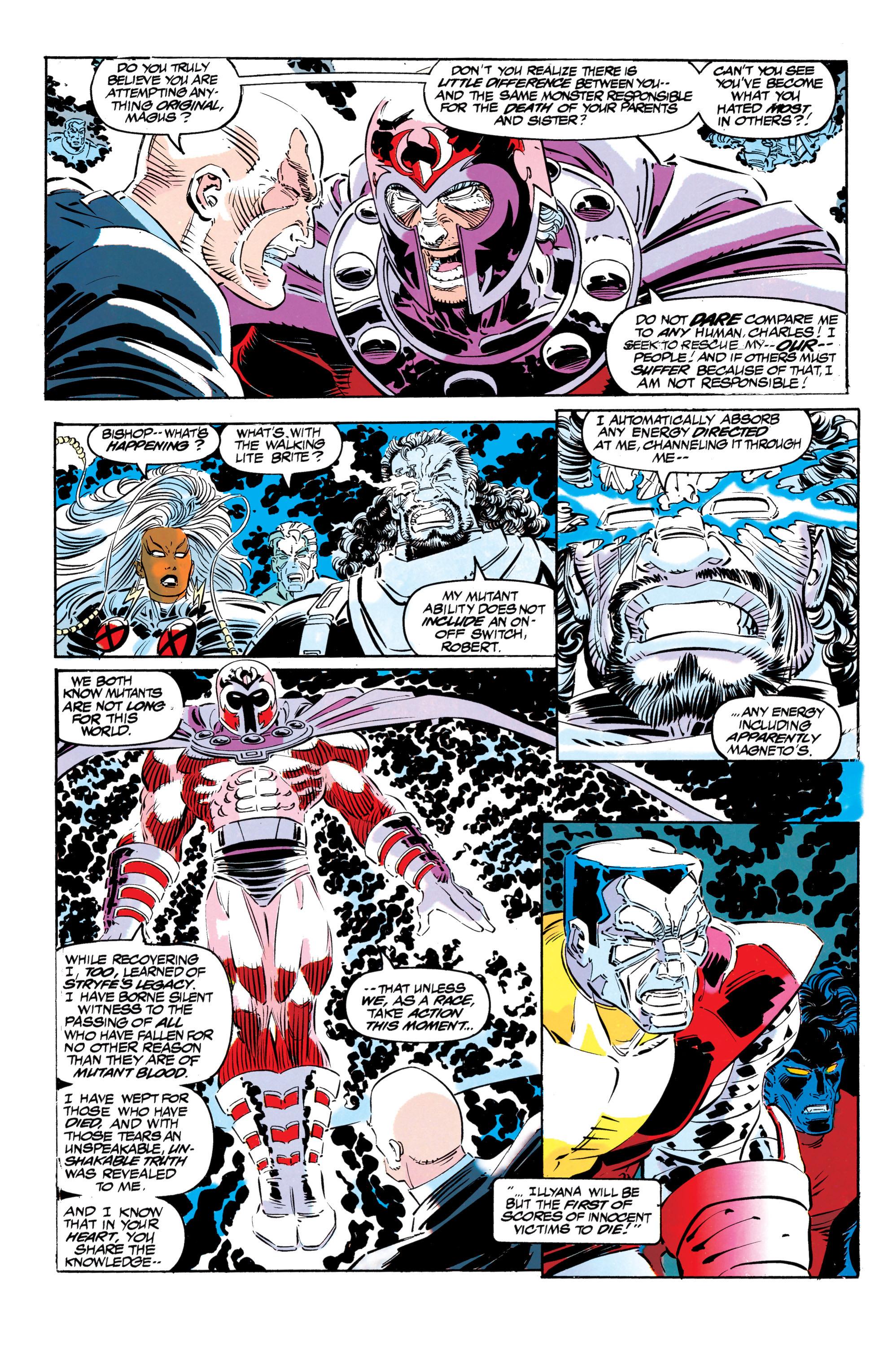 Read online Uncanny X-Men (1963) comic -  Issue #304 - 33