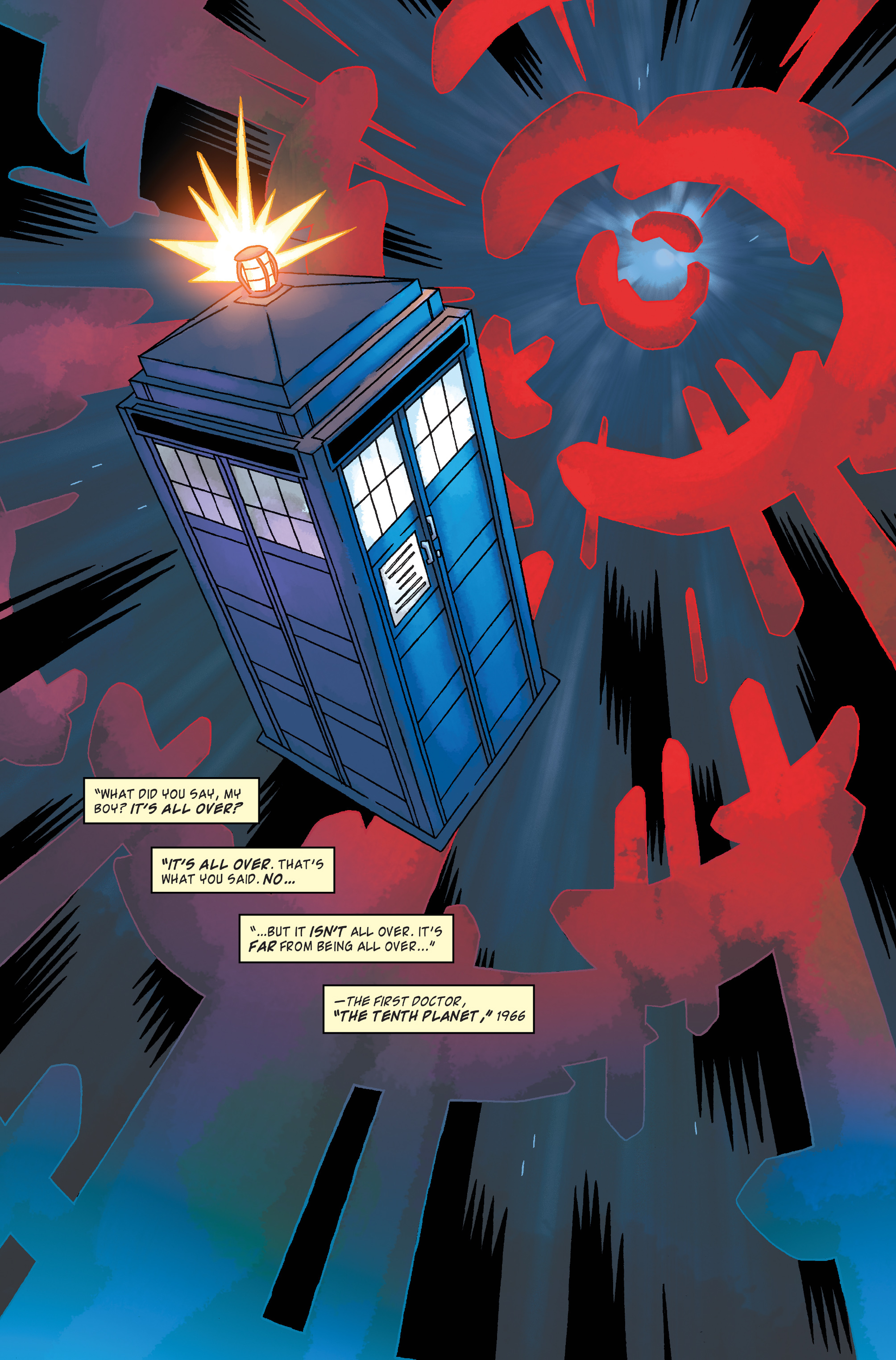 Read online Doctor Who: The Tenth Doctor Archives comic -  Issue #34 - 24
