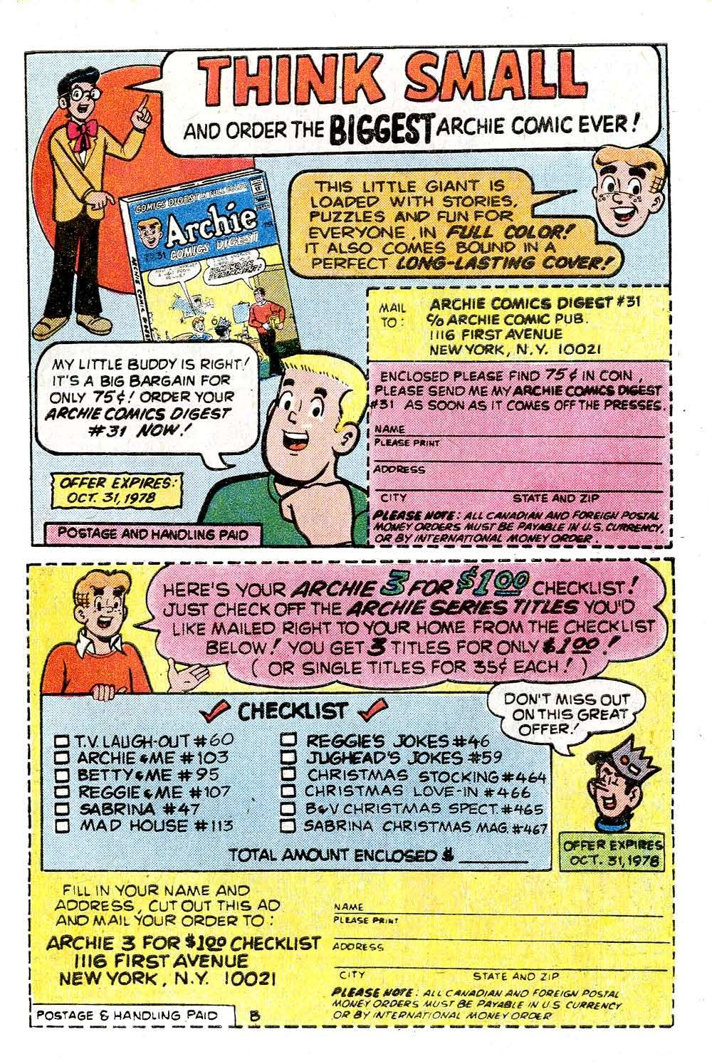 Read online Archie (1960) comic -  Issue #272 - 27