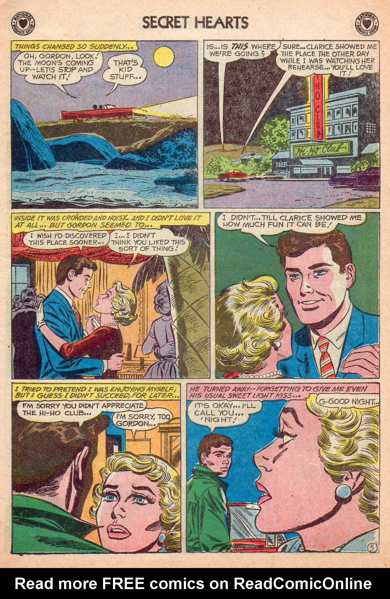 Read online Secret Hearts comic -  Issue #63 - 7