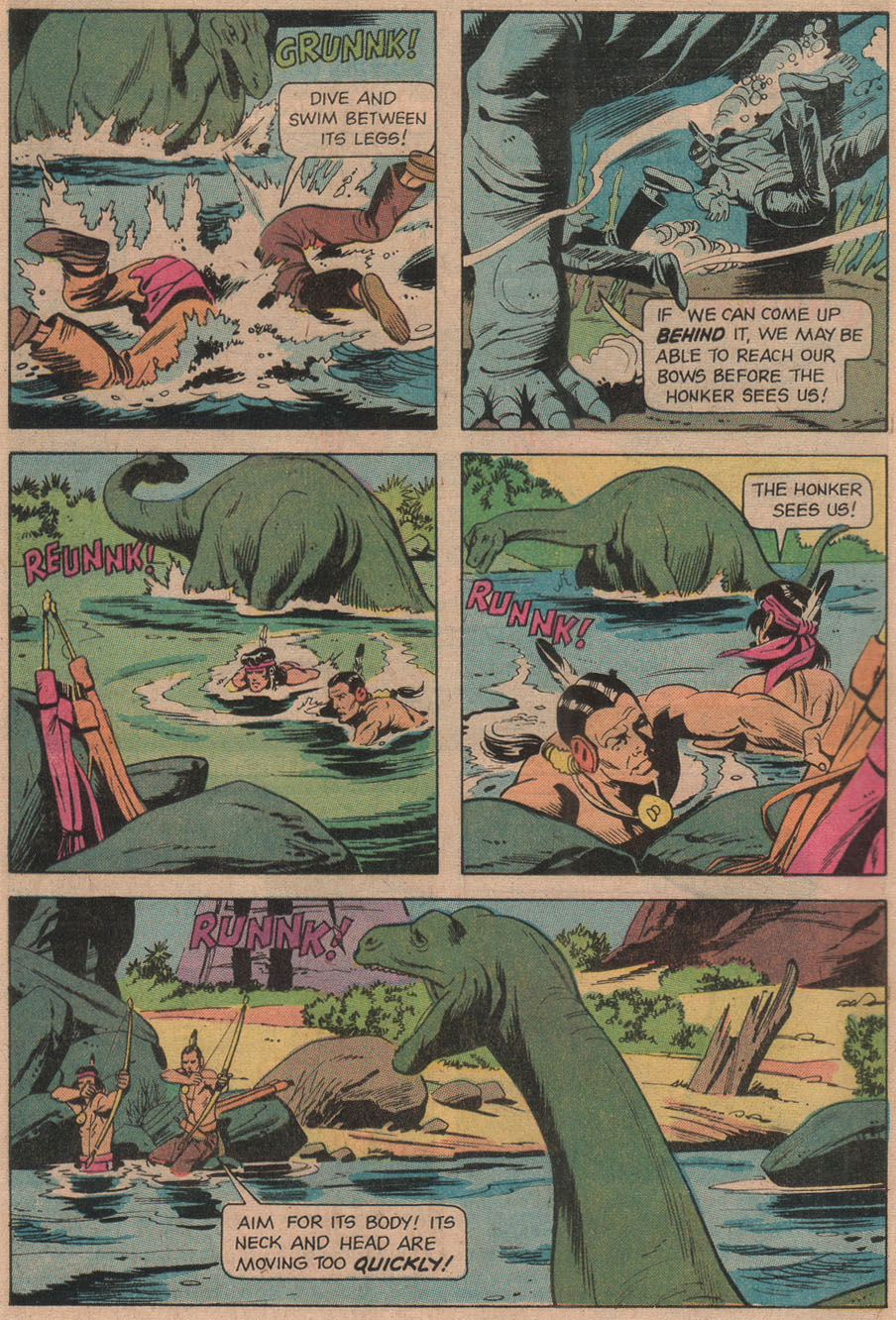 Read online Turok, Son of Stone comic -  Issue #97 - 4