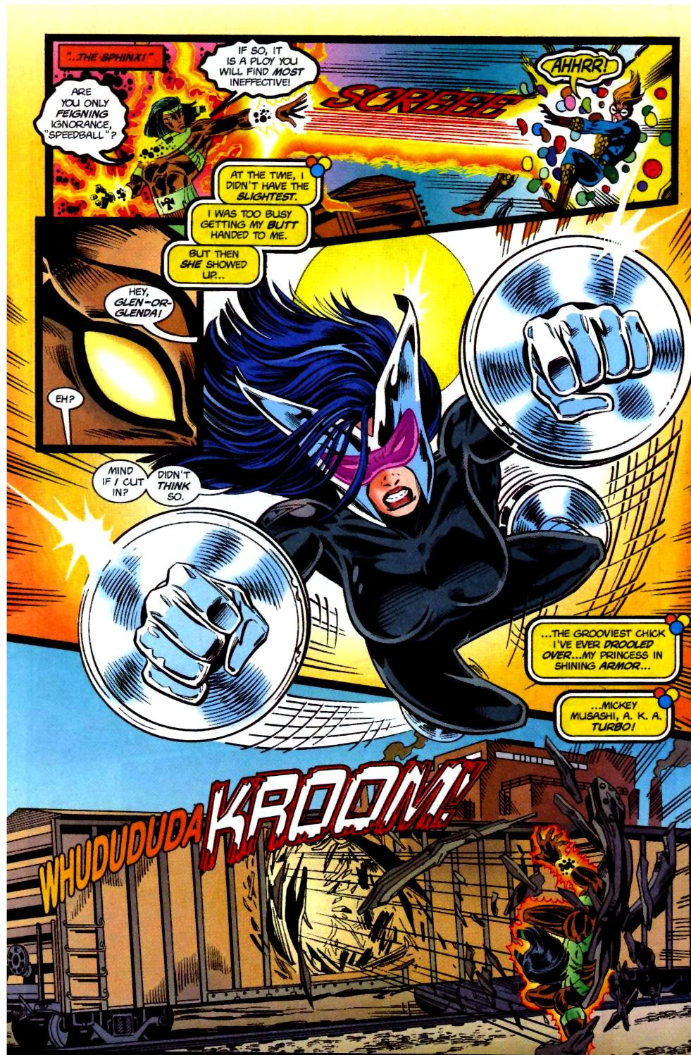The New Warriors Issue #69 #73 - English 8