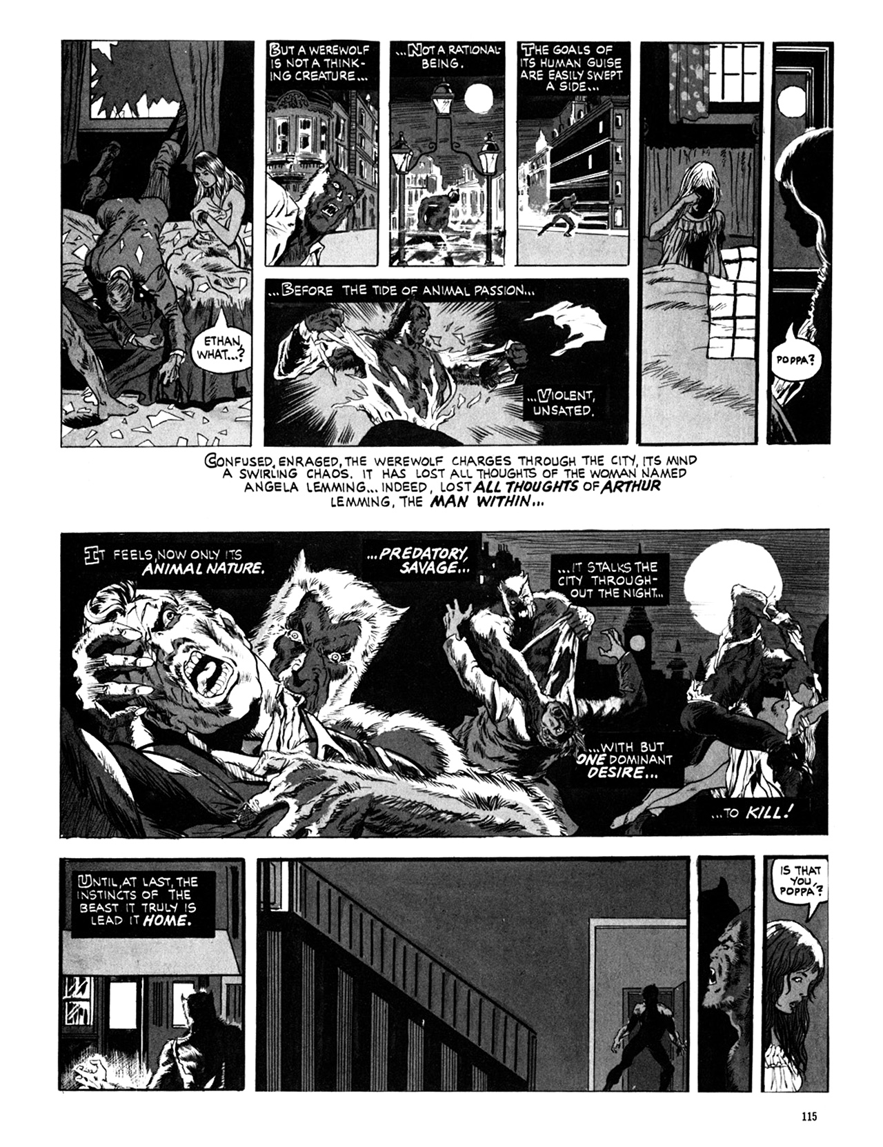 Read online Eerie Archives comic -  Issue # TPB 10 - 116