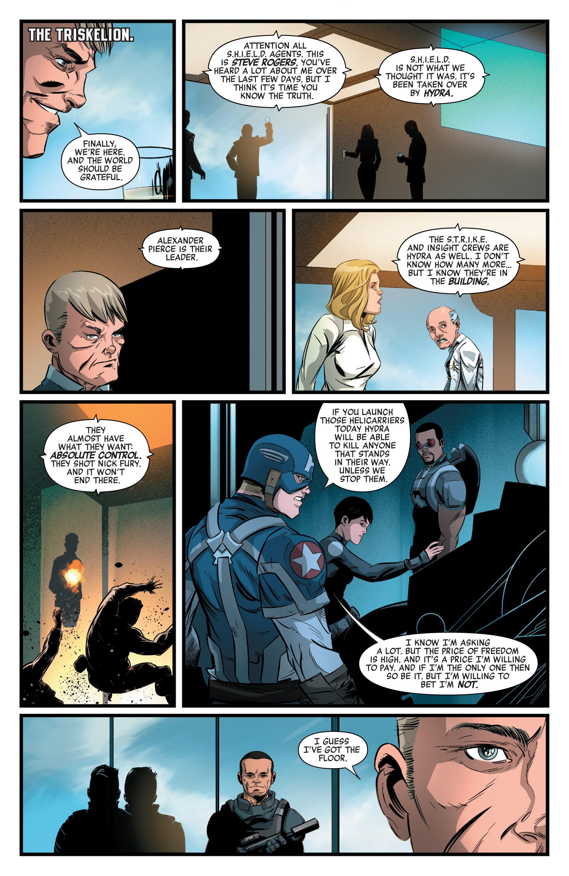 Read online Captain America: Civil War Prelude comic -  Issue #4 - 14