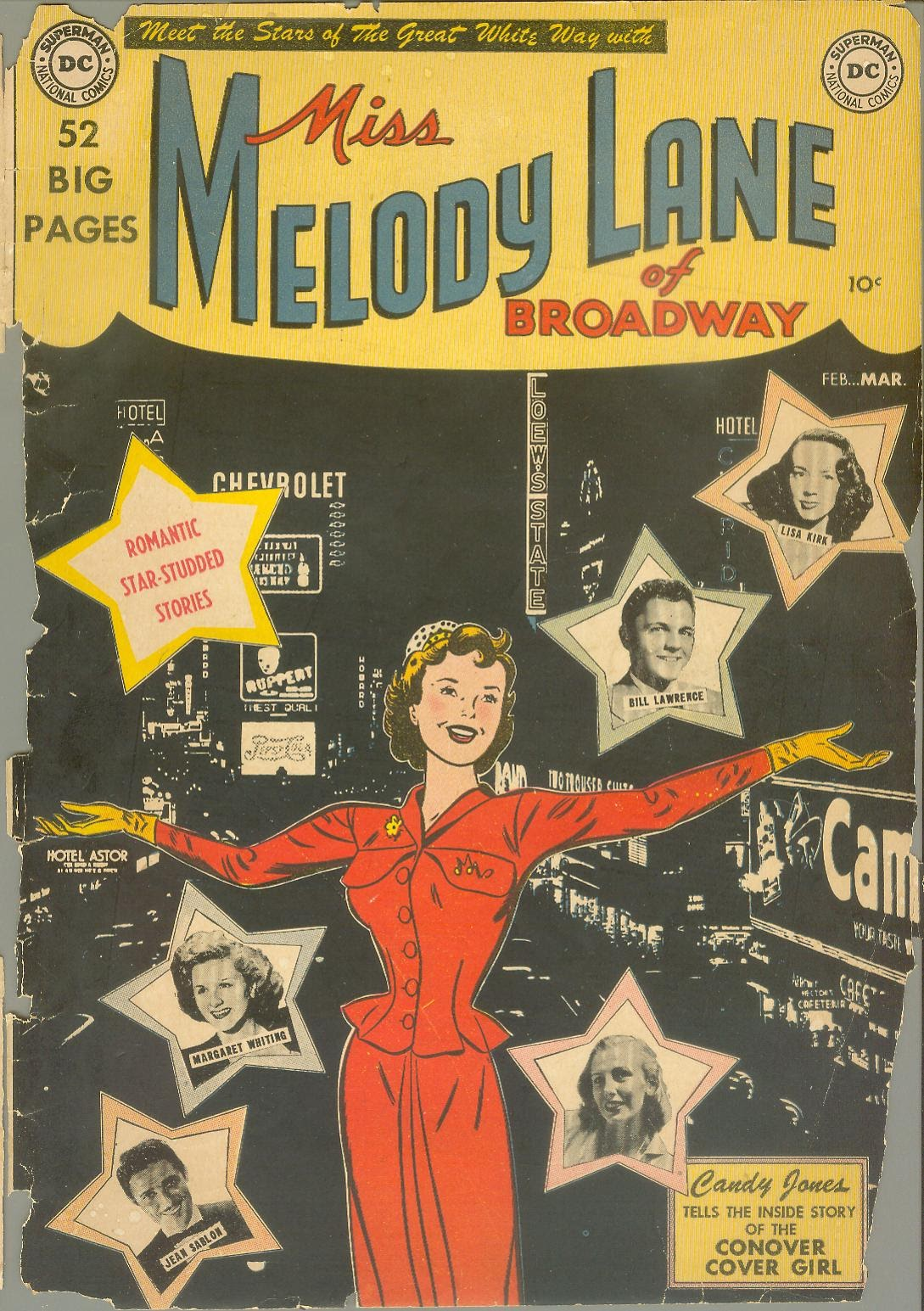 Miss Melody Lane of Broadway issue 1 - Page 1