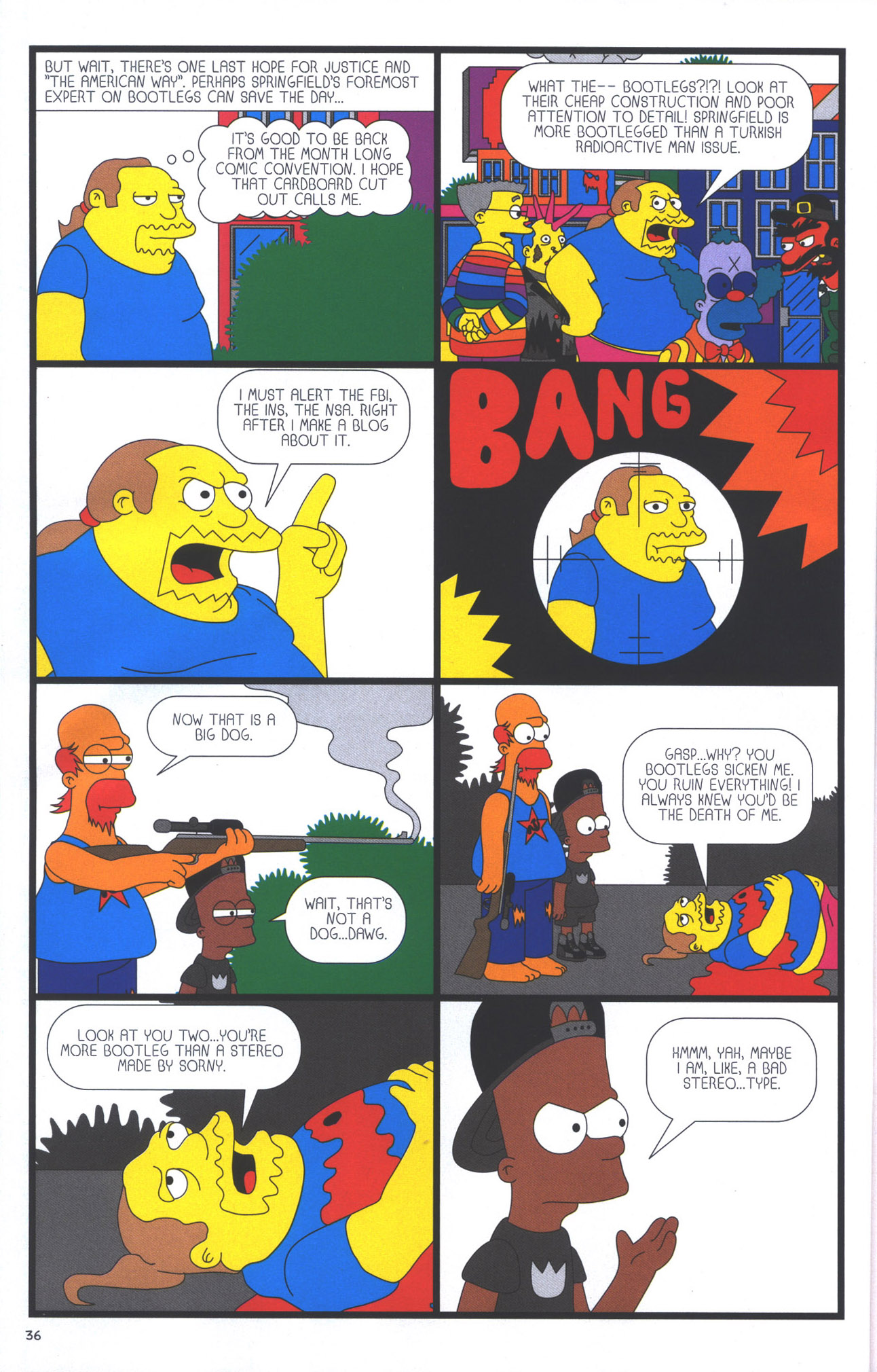 Read online Treehouse of Horror comic -  Issue #15 - 39