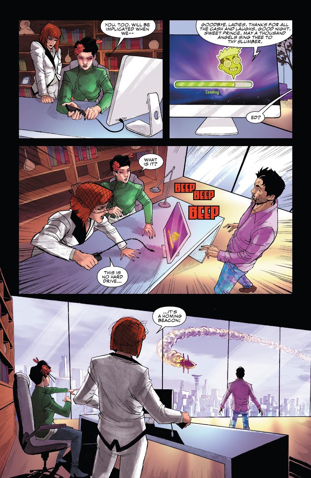 Read online Black Widow (2019) comic -  Issue #4 - 20