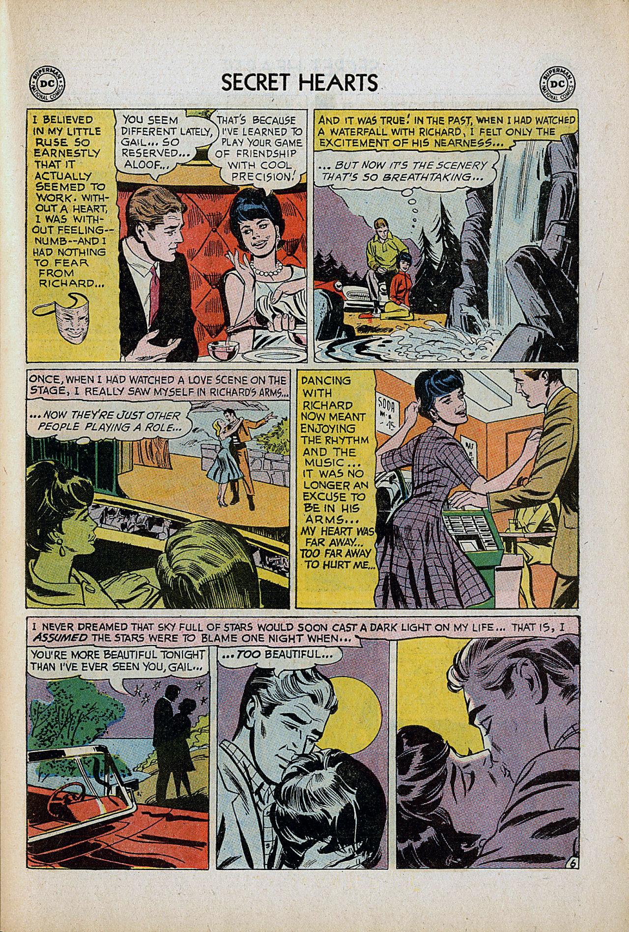 Read online Secret Hearts comic -  Issue #86 - 23