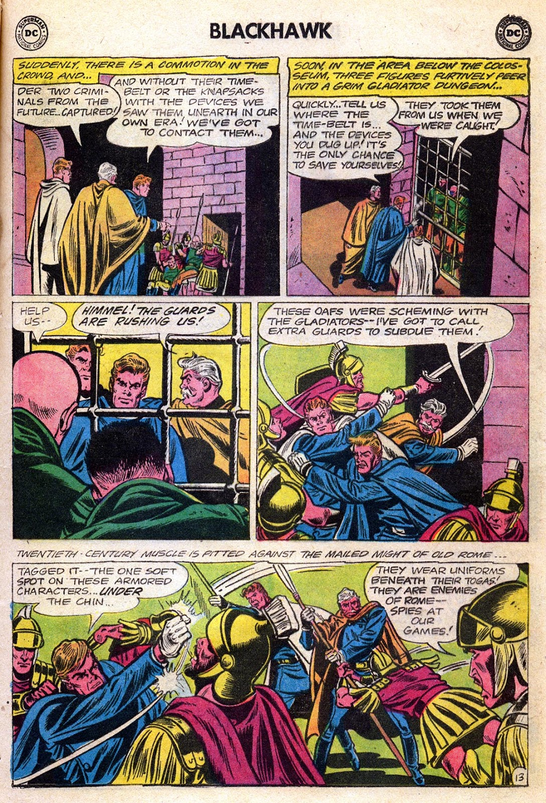 Blackhawk (1957) Issue #189 #82 - English 17