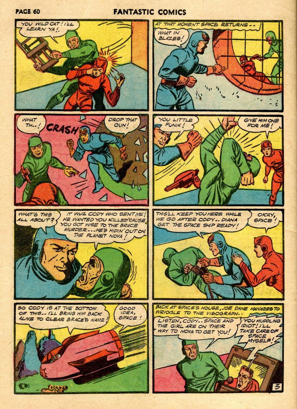Read online Fantastic Comics comic -  Issue #21 - 58