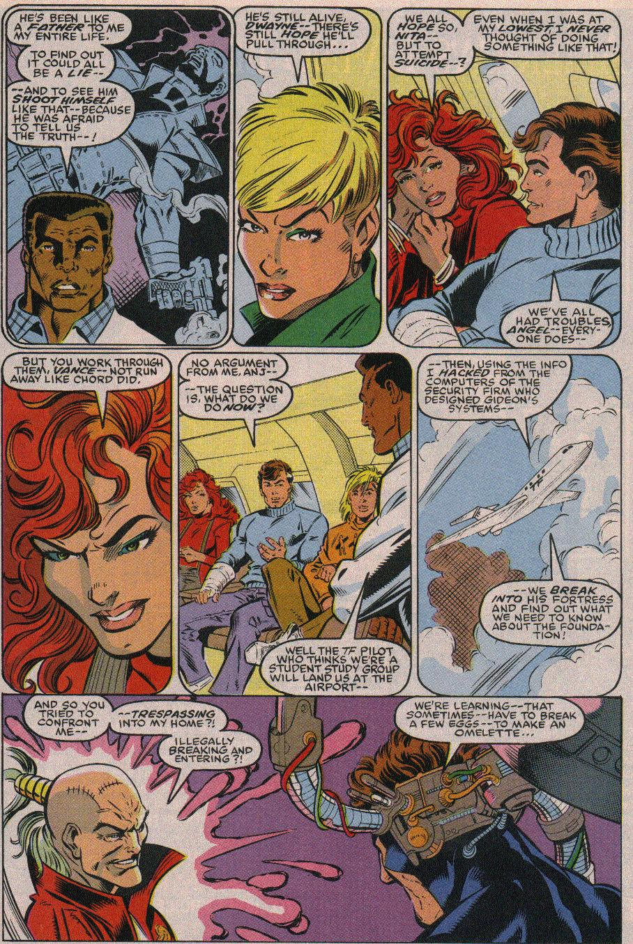 The New Warriors Issue #19 #23 - English 5