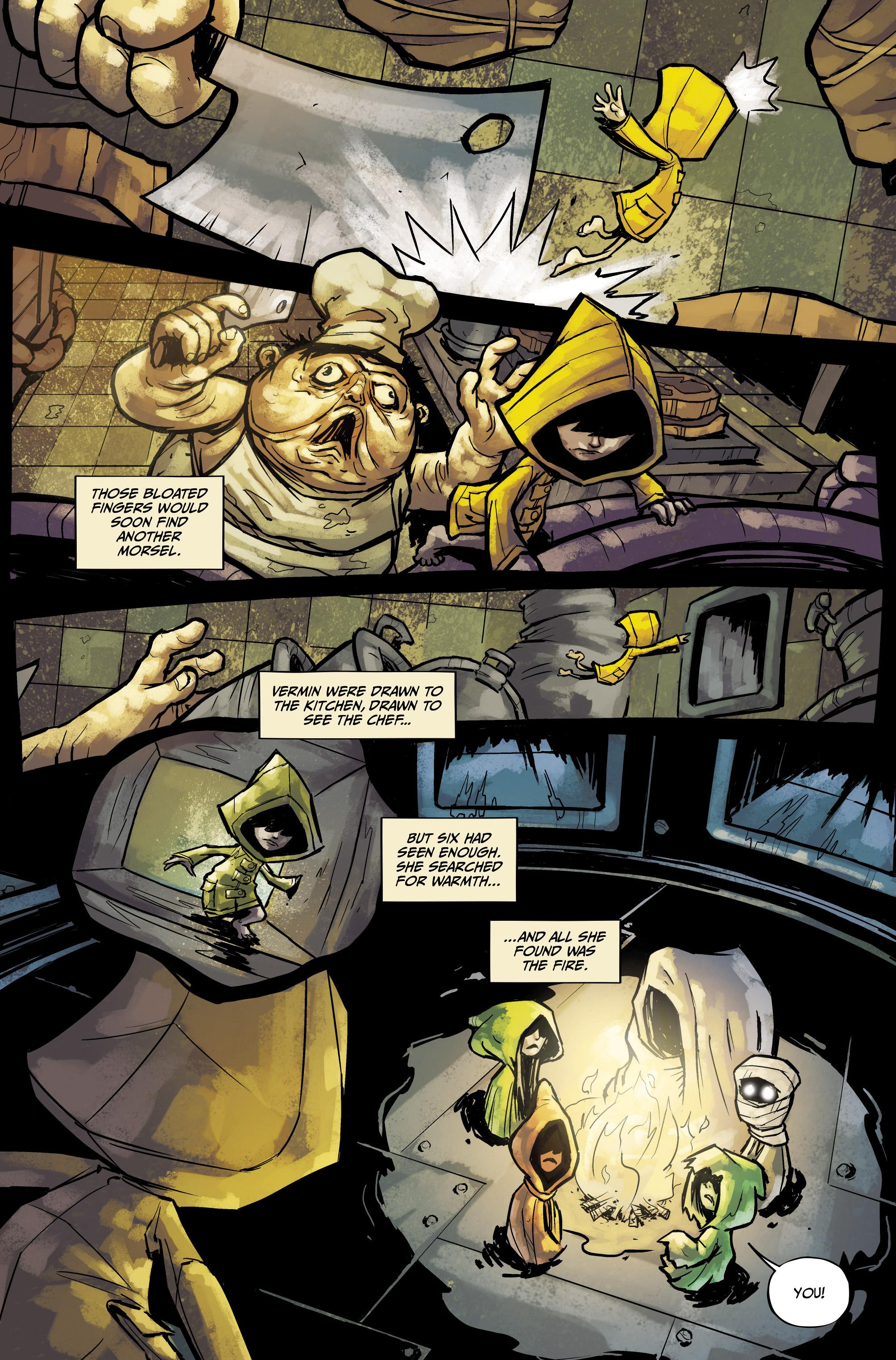 Read online Little Nightmares comic -  Issue #1 - 3