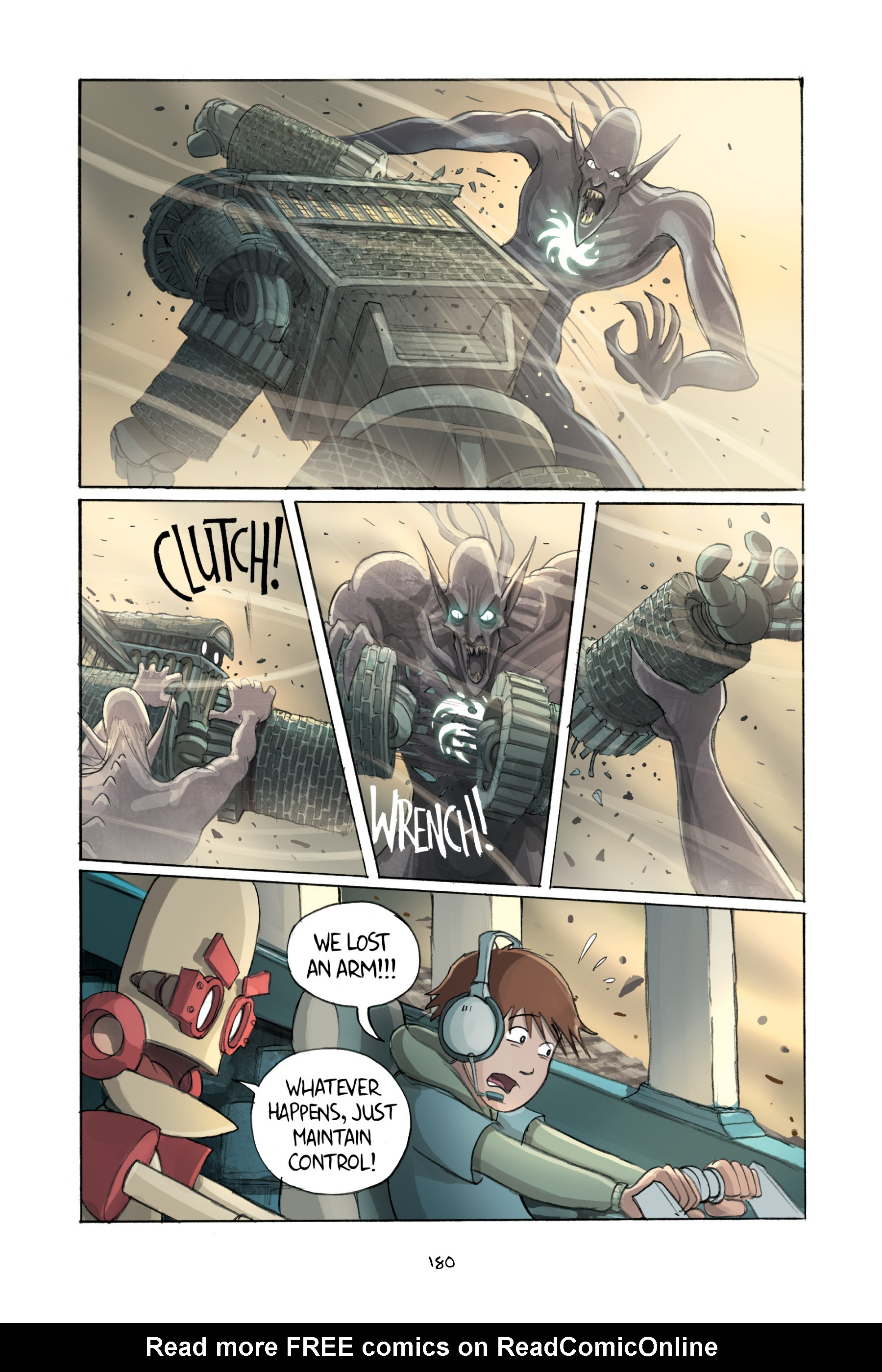 Read online Amulet comic -  Issue #2 - 179