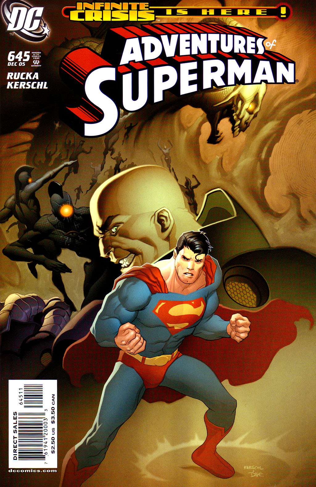 Read online Adventures of Superman (1987) comic -  Issue #645 - 1