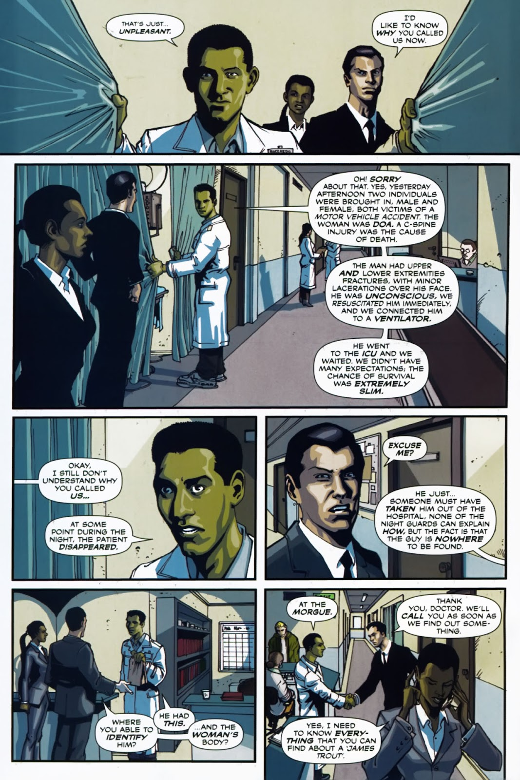 Read online Lazarus (2007) comic -  Issue #1 - 10