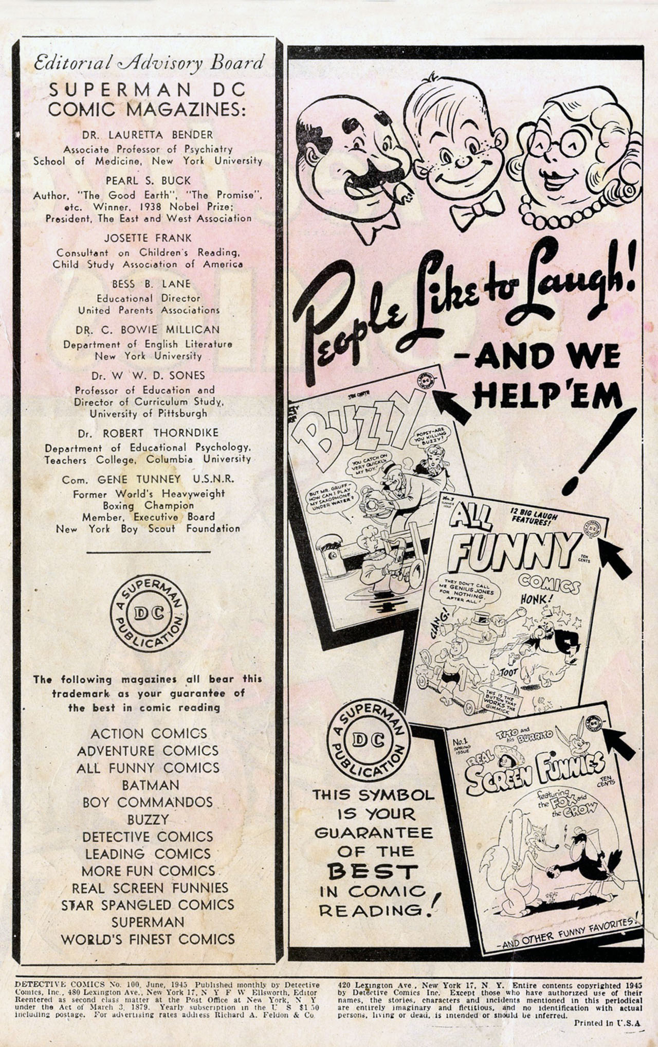 Read online Detective Comics (1937) comic -  Issue #100 - 2